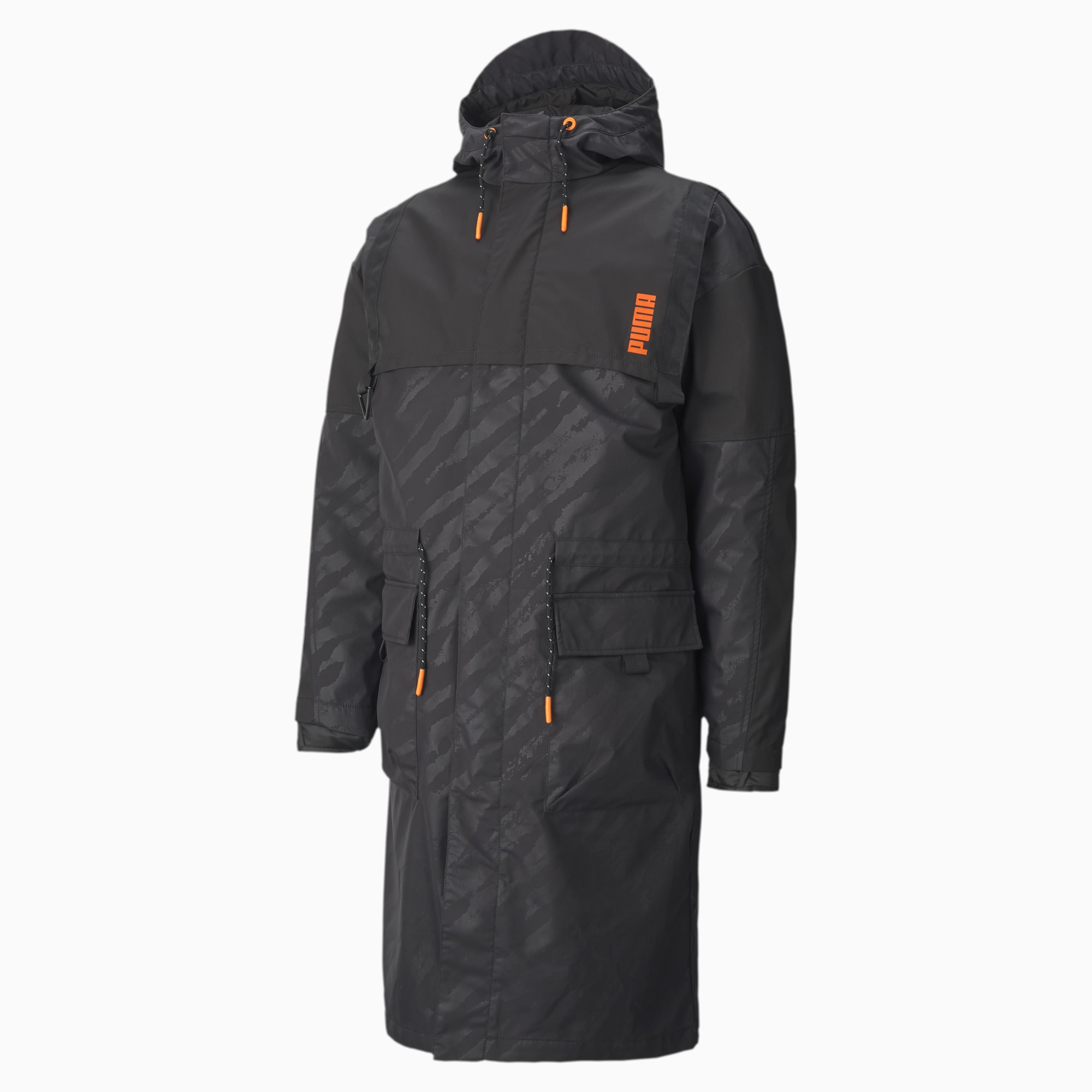 PUMA x CENTRAL SAINT MARTINS Hooded 2 in 1 Jacket, Puma Black, extralarge