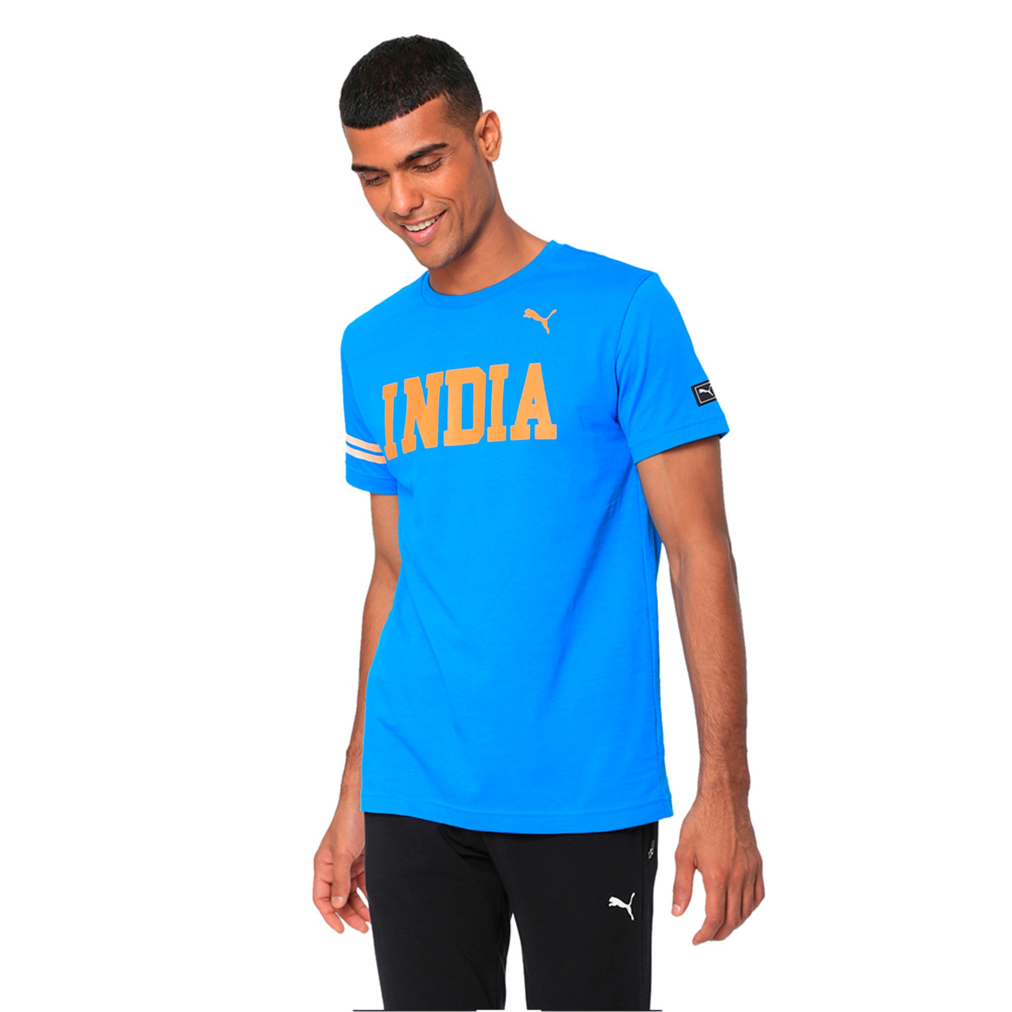 Thumbnail 4 of World Cup Tee, French Blue, medium-IND