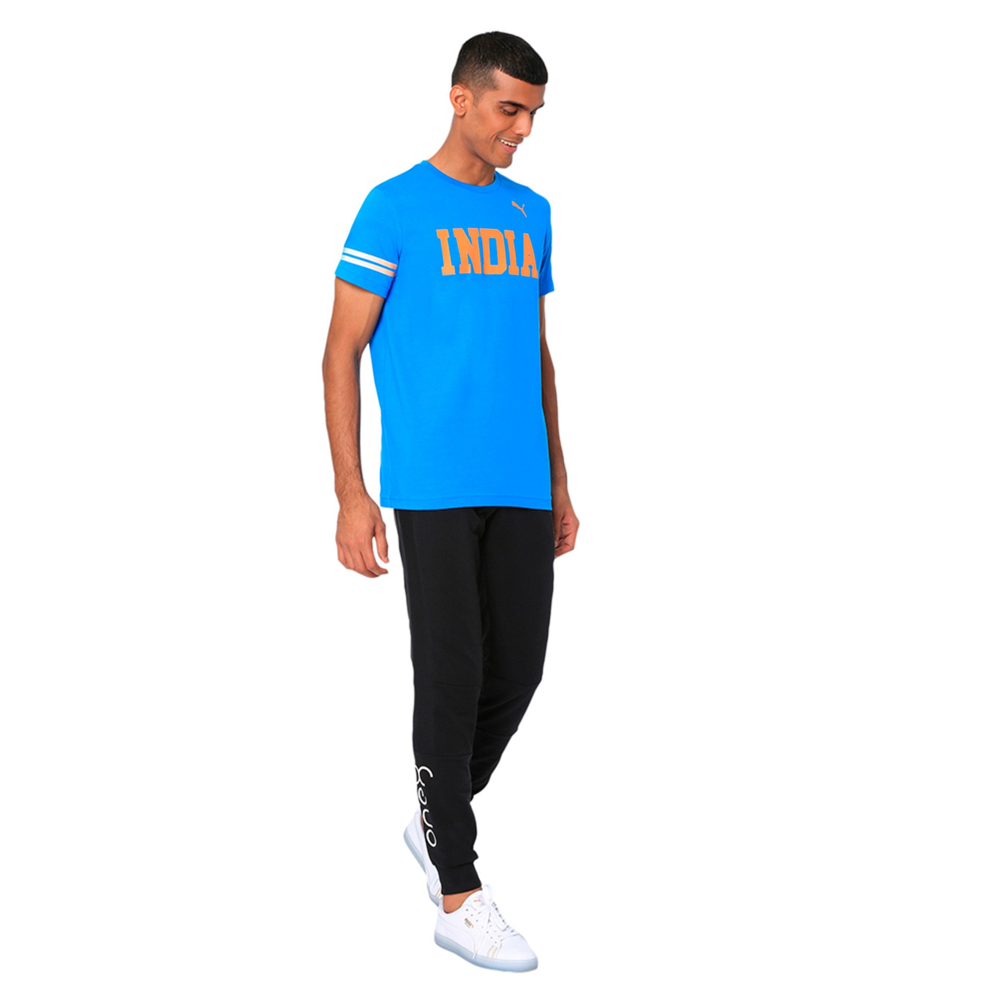 Thumbnail 2 of World Cup Tee, French Blue, medium-IND