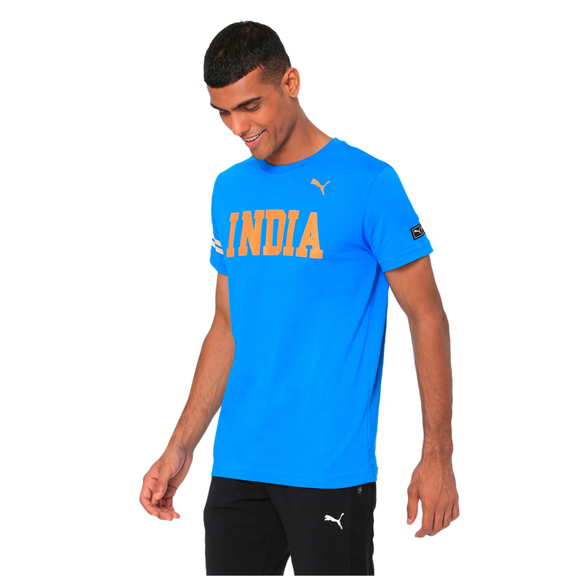 Thumbnail 3 of World Cup Tee, French Blue, medium-IND
