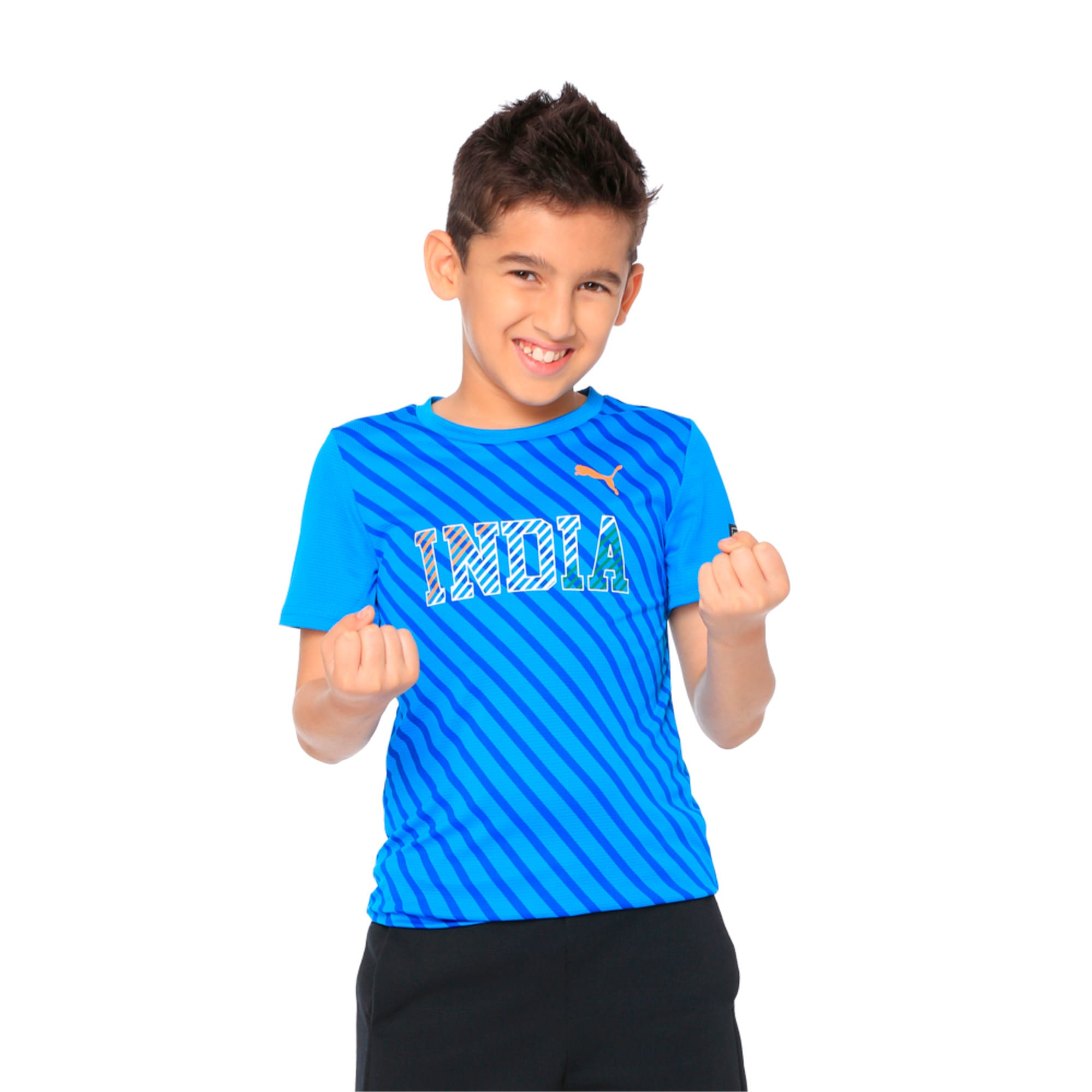 Thumbnail 4 of World Cup Tee Youth 2 French Blue, French Blue, medium-IND
