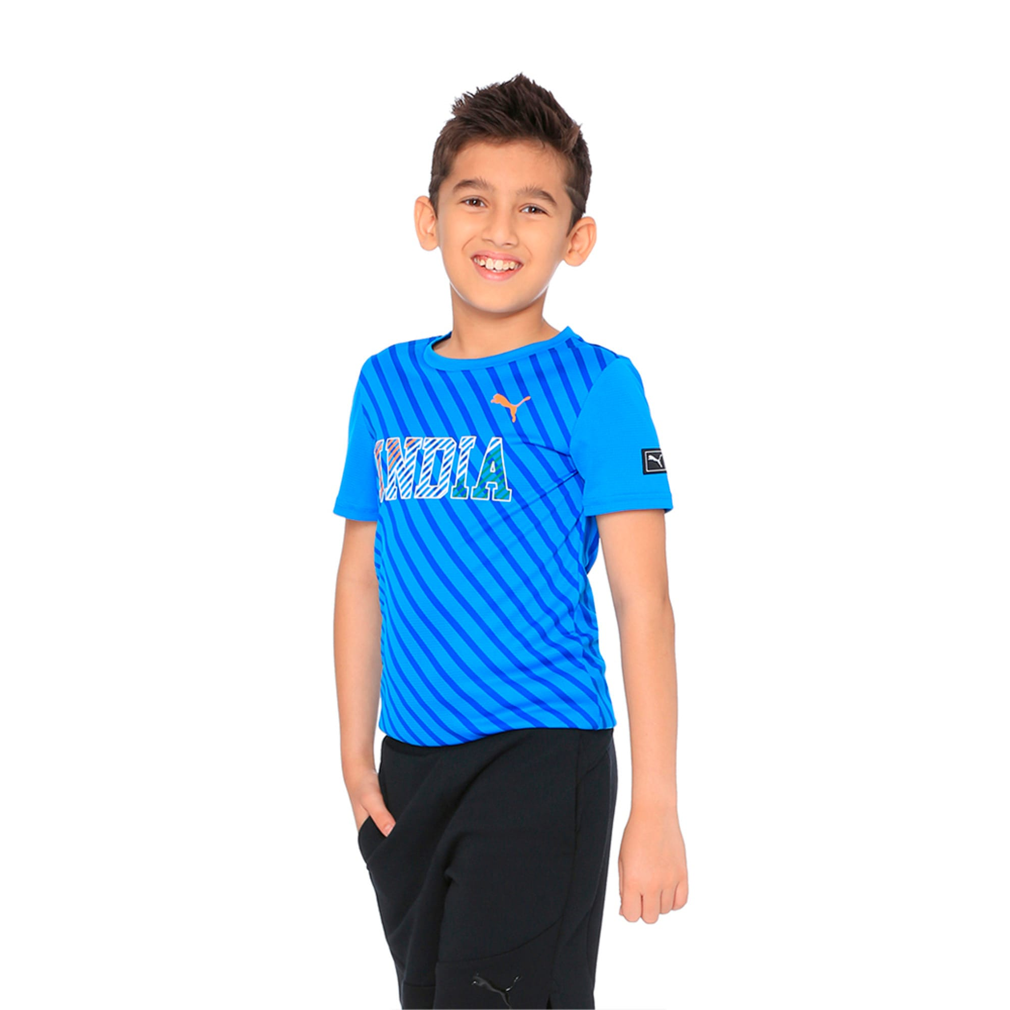 Thumbnail 1 of World Cup Tee Youth 2 French Blue, French Blue, medium-IND