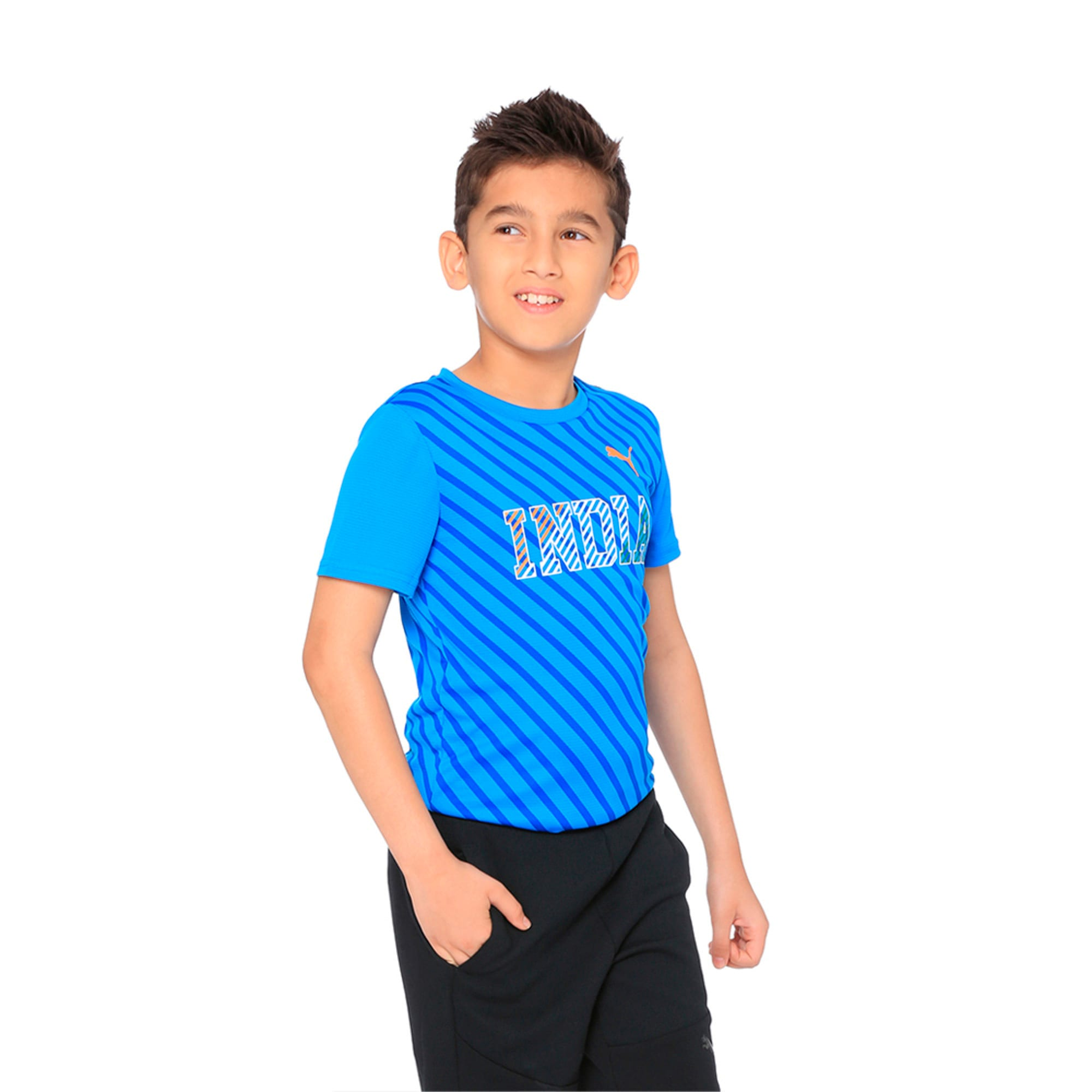 Thumbnail 2 of World Cup Tee Youth 2 French Blue, French Blue, medium-IND