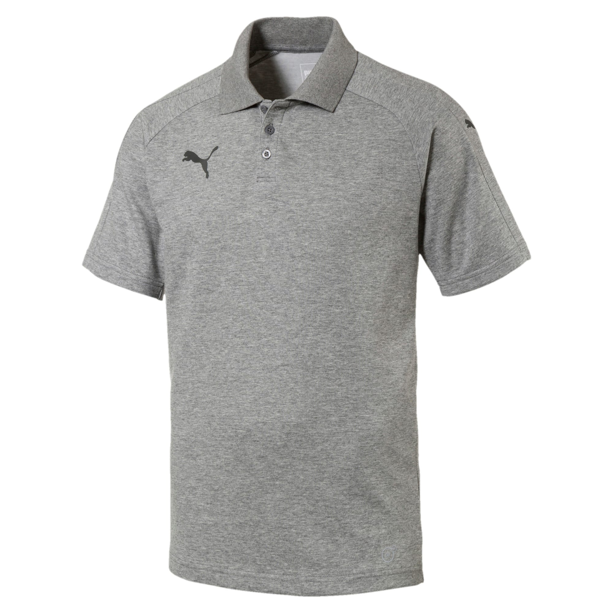 Thumbnail 1 of Men's Ascension Casuals Polo, Medium Gray Heather, medium-IND