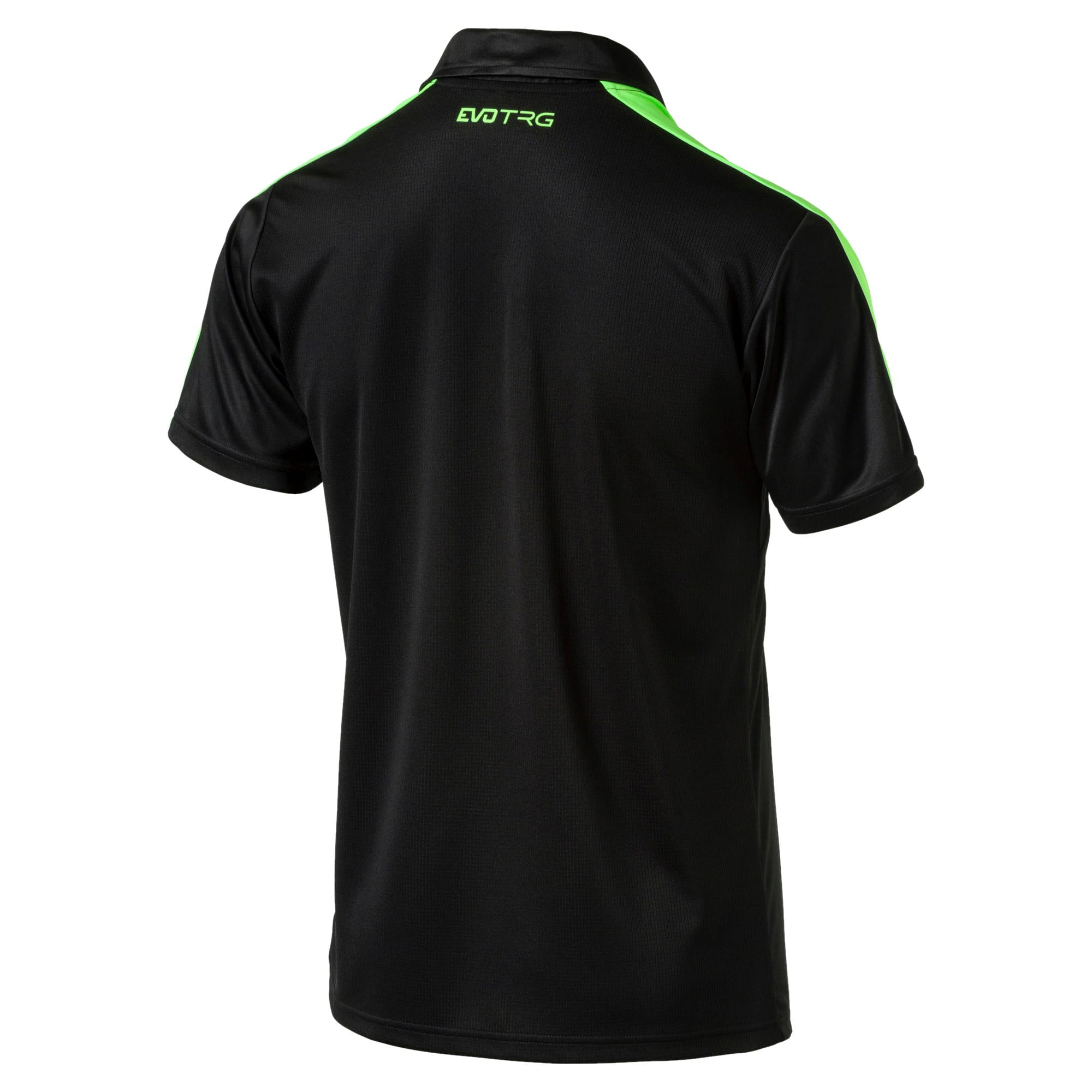 Thumbnail 5 of IT evoTRG Polo, Puma Black-Green Gecko, medium-IND