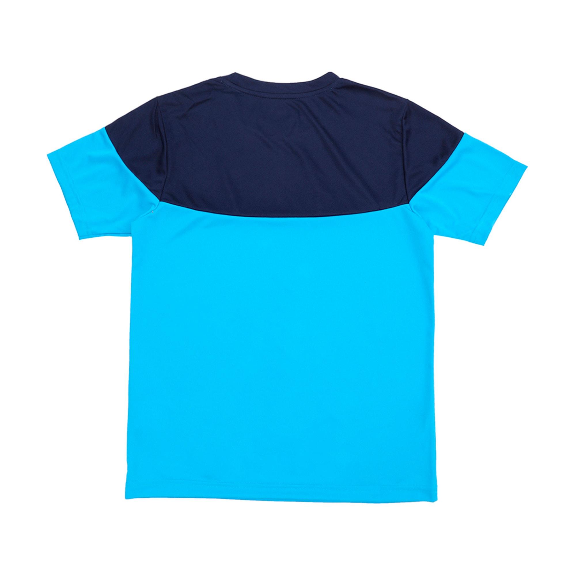 Thumbnail 3 of ftblPLAY Kids' Shirt, Bleu Azur-Peacoat, medium-IND