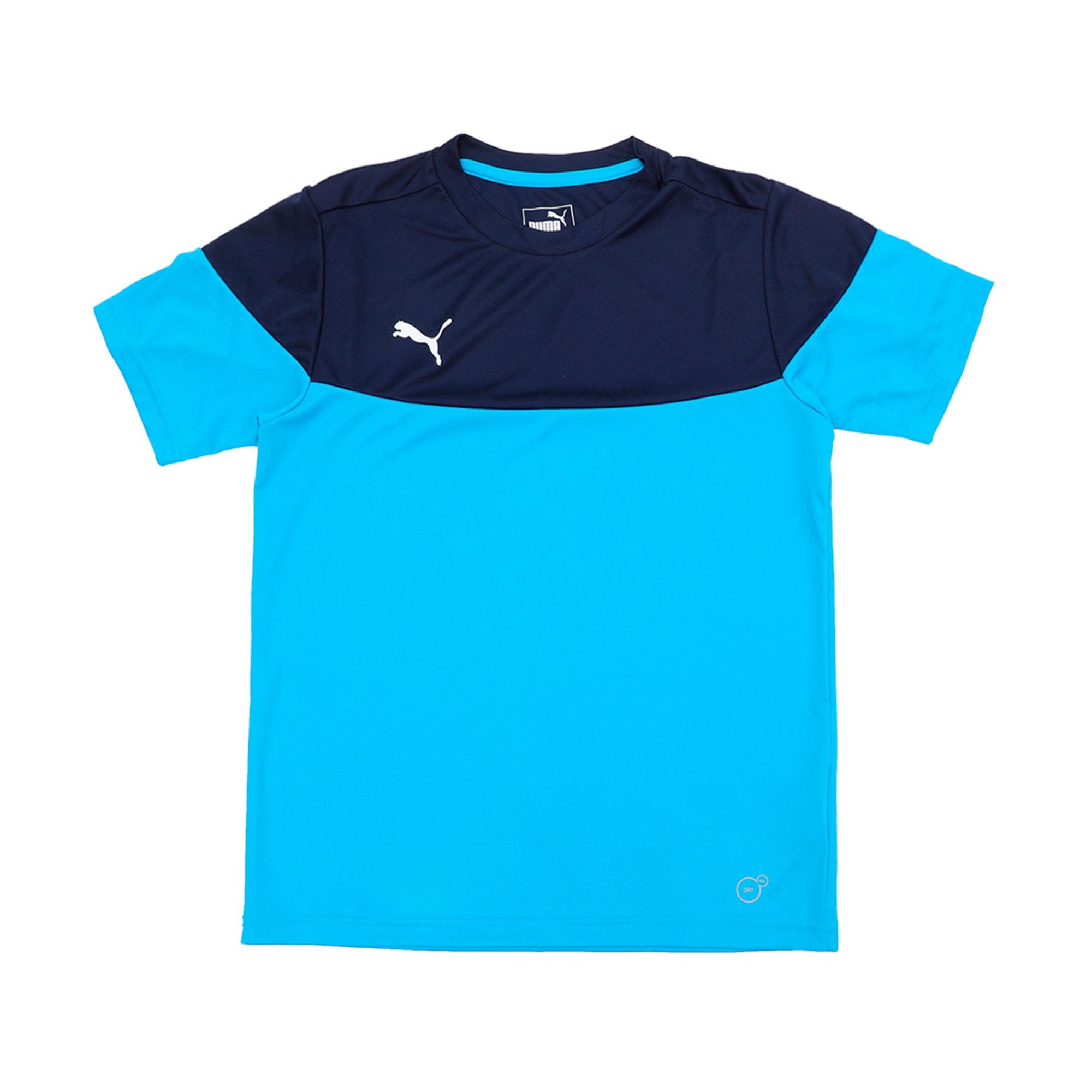 Thumbnail 1 of ftblPLAY Kids' Shirt, Bleu Azur-Peacoat, medium-IND