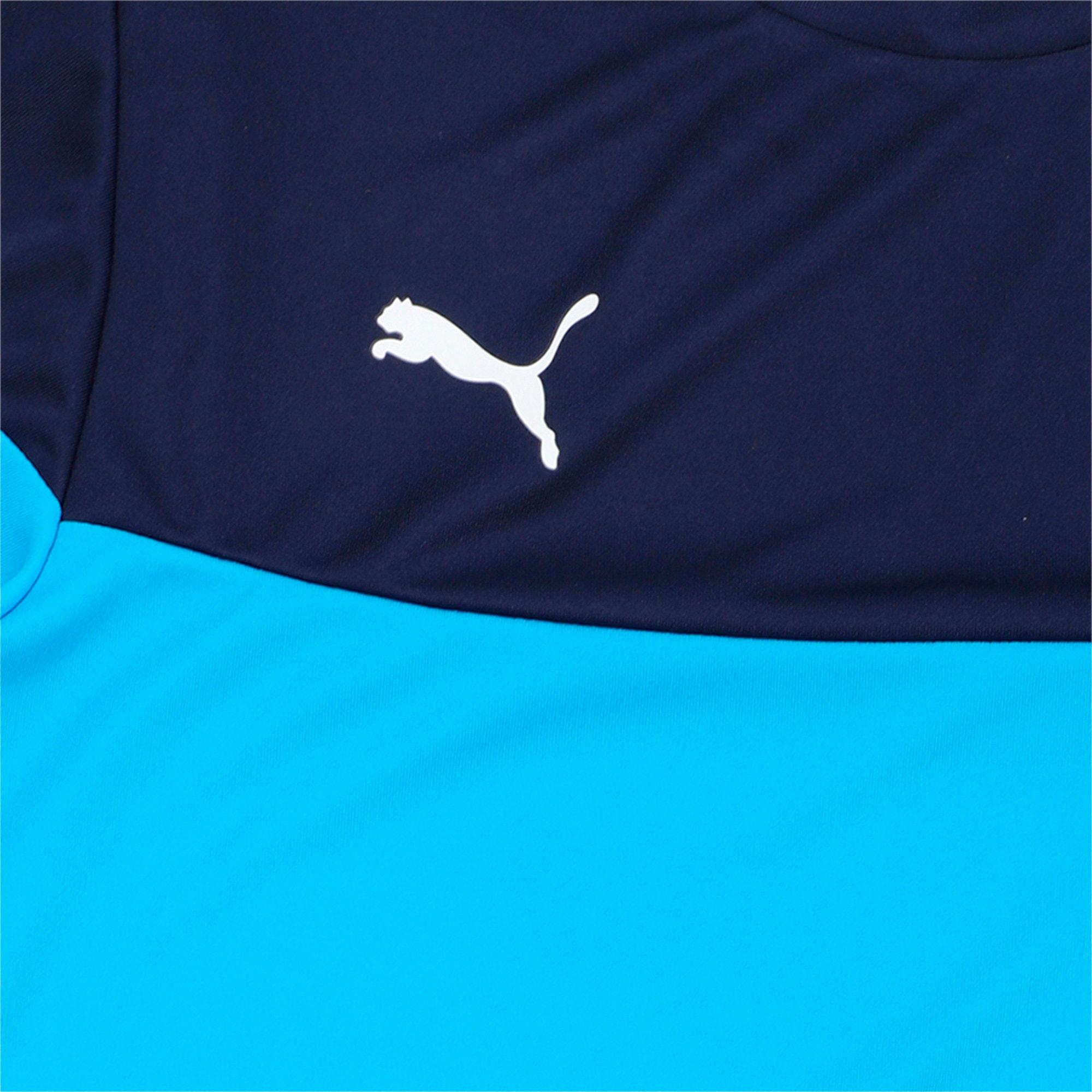 Thumbnail 2 of ftblPLAY Kids' Shirt, Bleu Azur-Peacoat, medium-IND