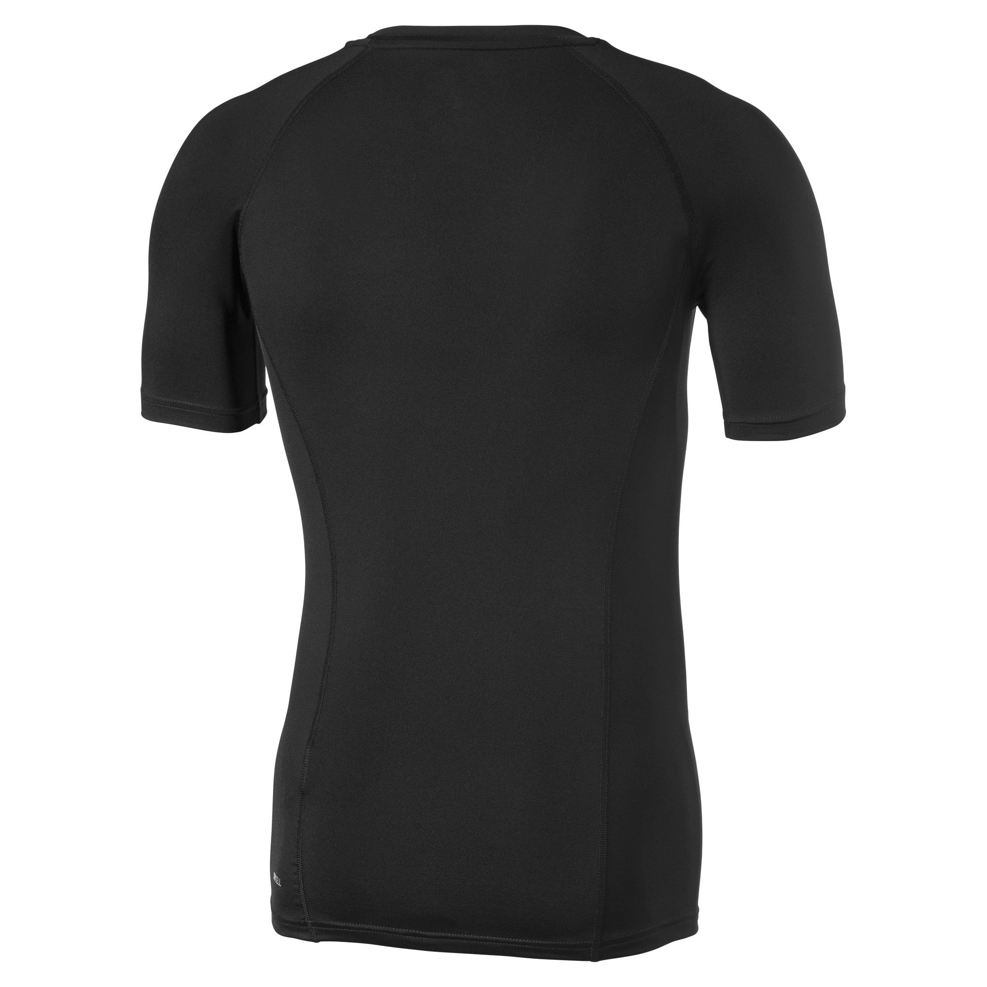 Thumbnail 2 of LIGA Baselayer T-shirt met korte mouwen voor heren, Puma Black, medium