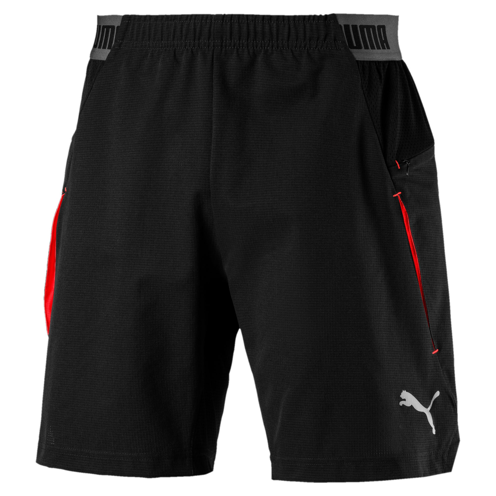 Thumbnail 5 of ftblNXT Pro Men's Shorts, Puma Black-Red Blast, medium
