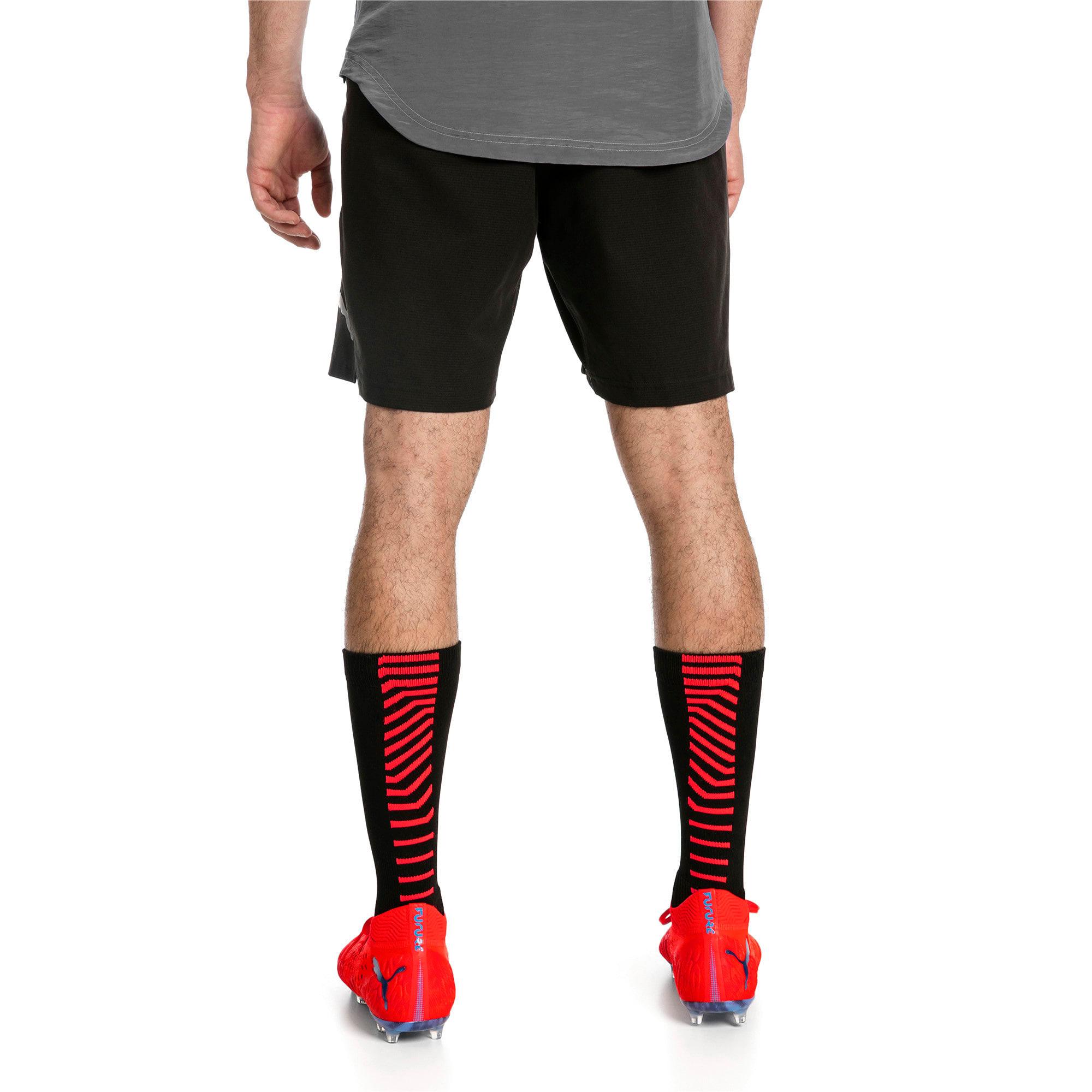 Thumbnail 2 of ftblNXT Pro Men's Shorts, Puma Black-Red Blast, medium