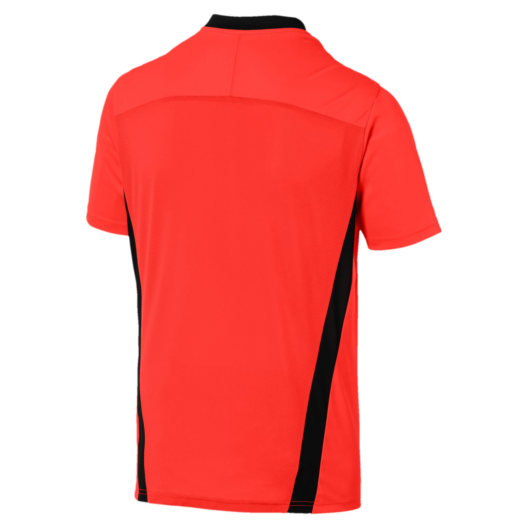 Thumbnail 5 of Herren T-Shirt, Nrgy Red-Puma Black, medium