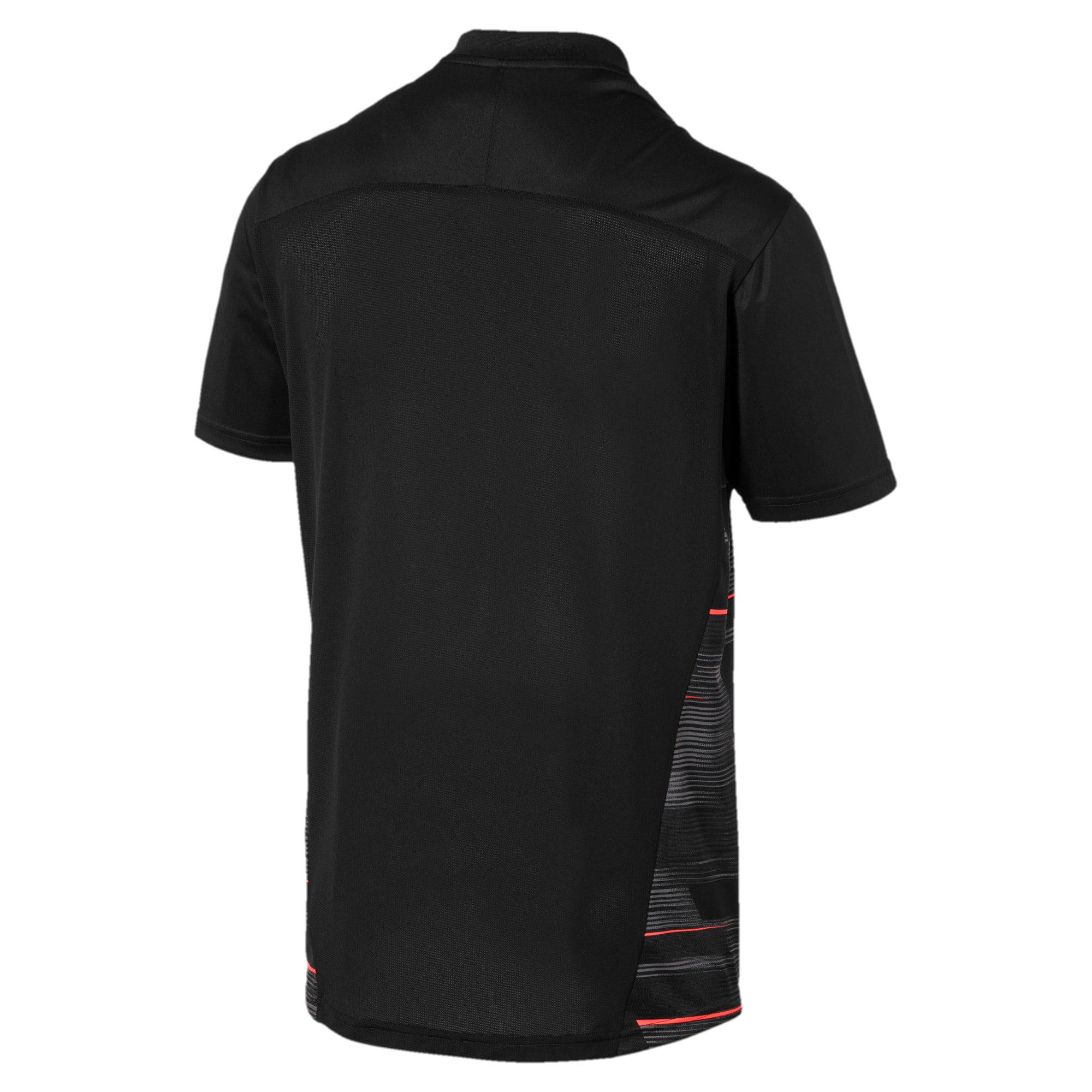 Miniatura 5 de Camiseta estampada ftblNXT para hombre, Puma Black-Nrgy Red, mediano