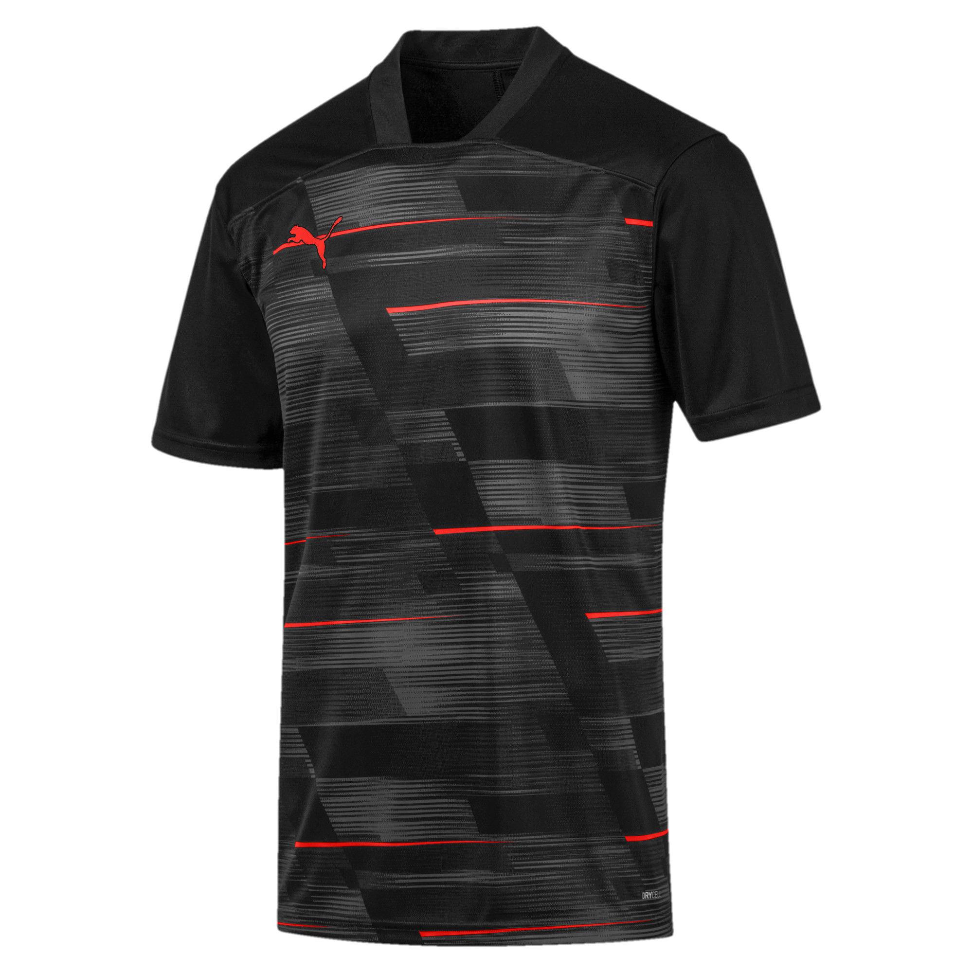 Miniatura 4 de Camiseta estampada ftblNXT para hombre, Puma Black-Nrgy Red, mediano