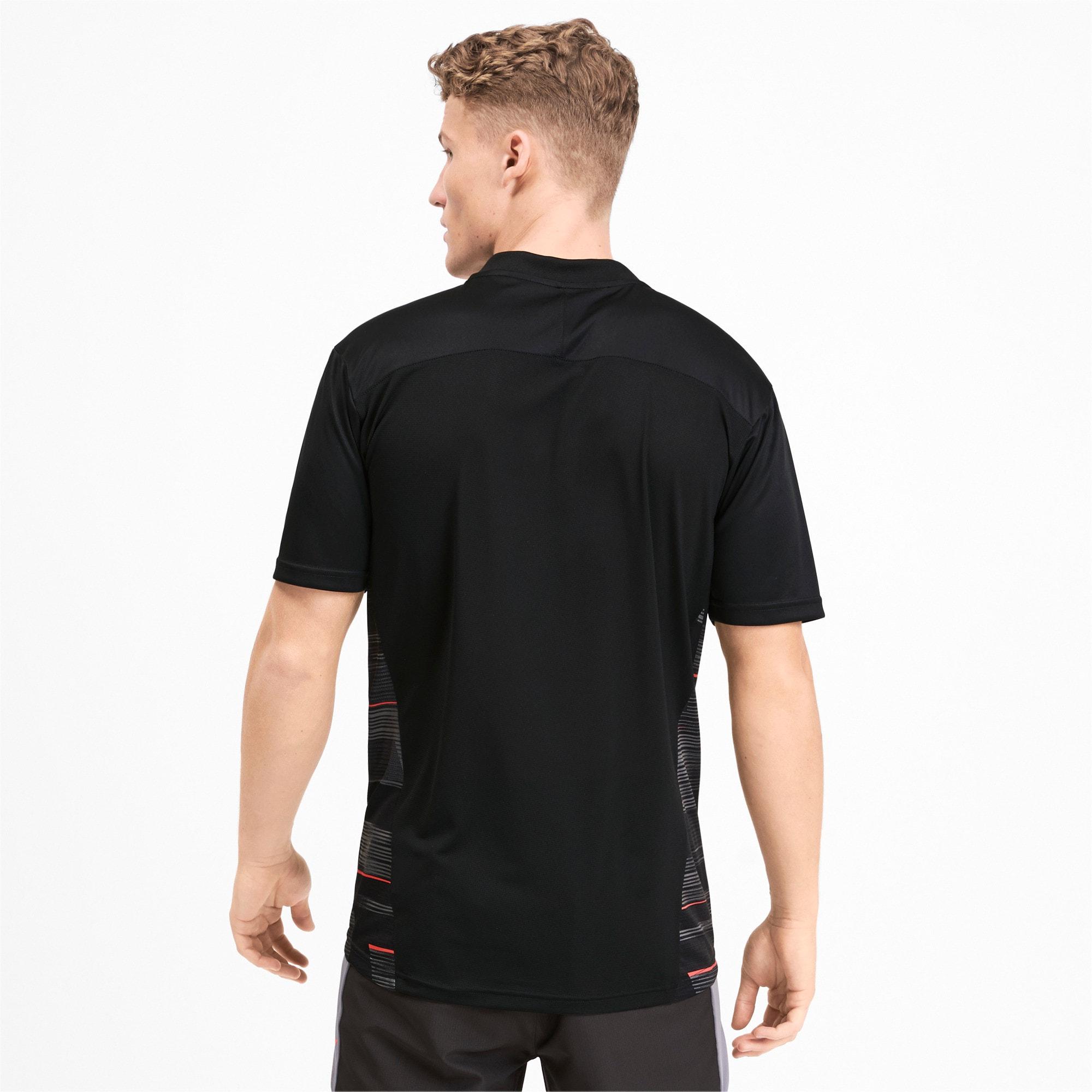 Miniatura 2 de Camiseta estampada ftblNXT para hombre, Puma Black-Nrgy Red, mediano