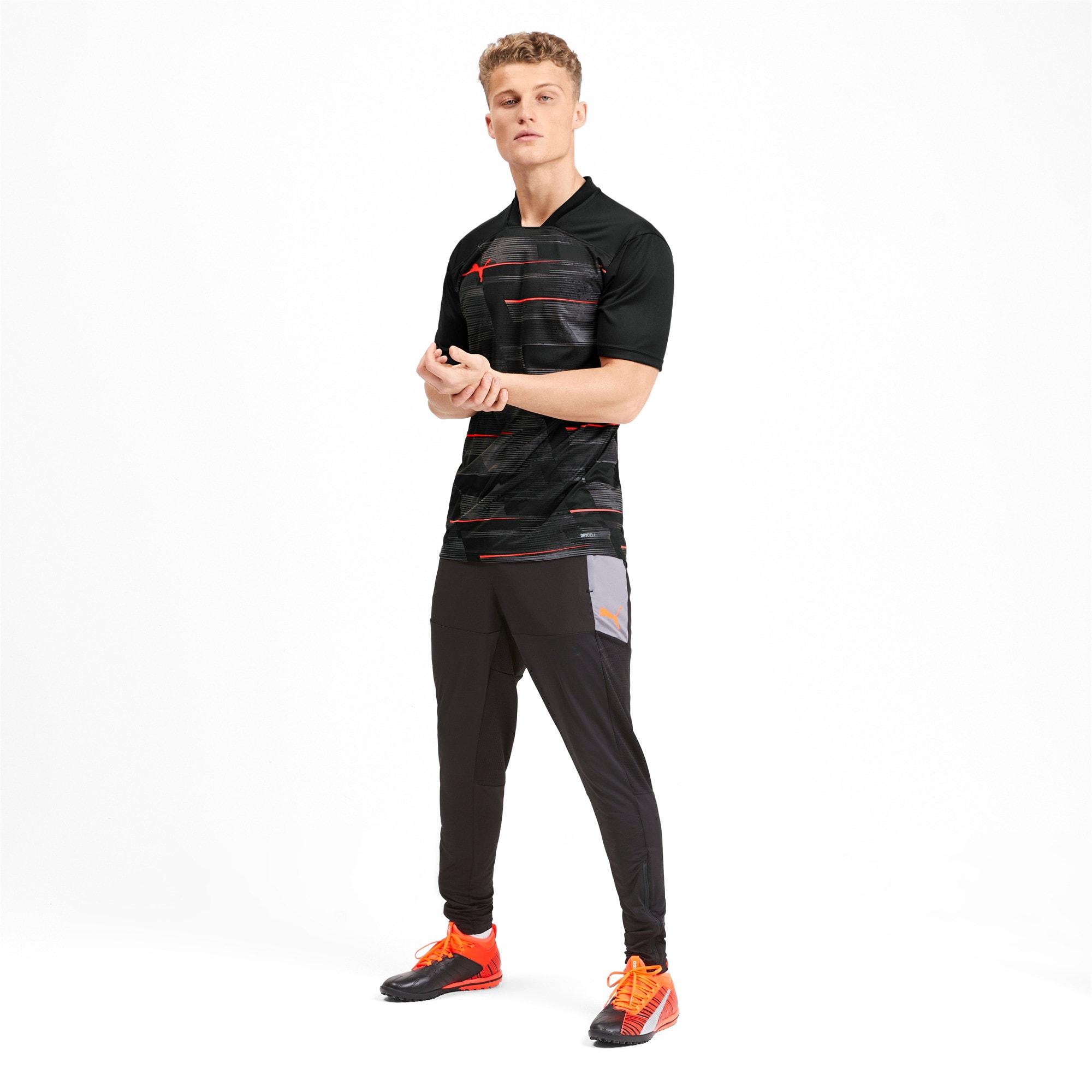 Miniatura 3 de Camiseta estampada ftblNXT para hombre, Puma Black-Nrgy Red, mediano