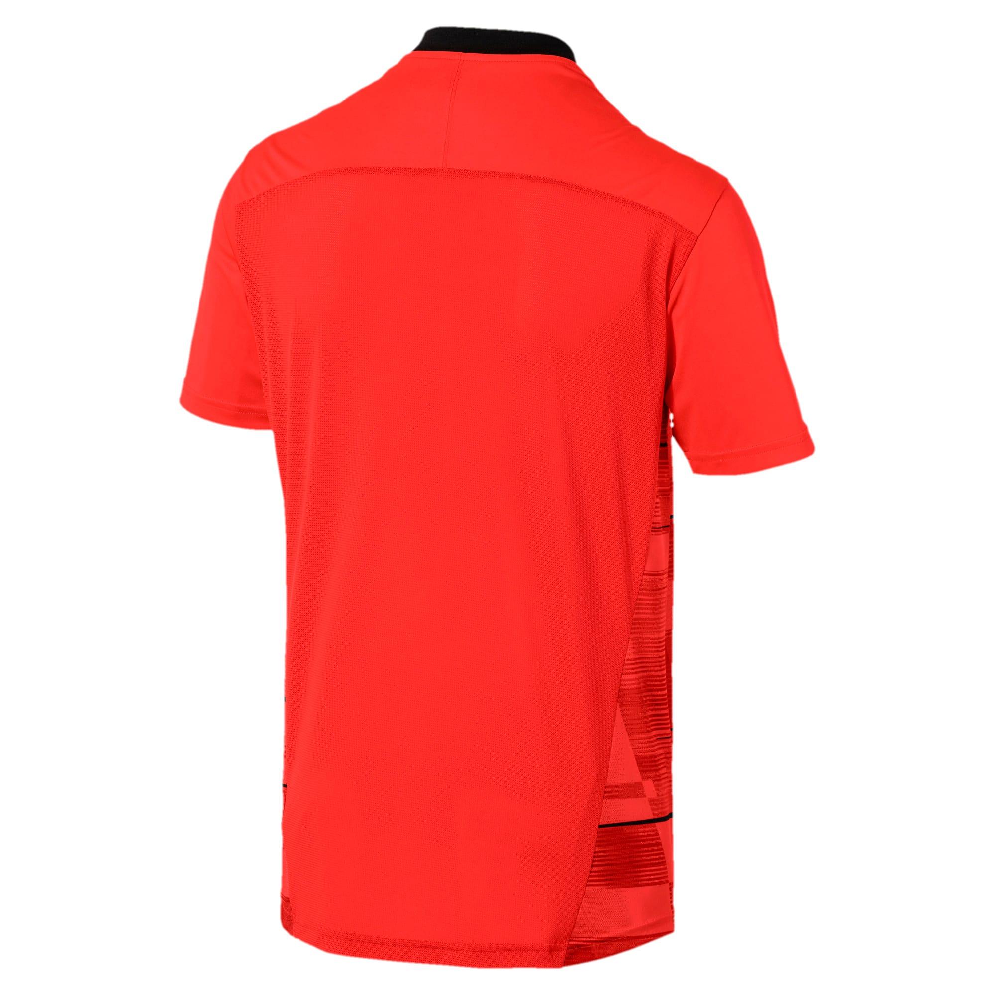 Thumbnail 5 of ftblNXT Men's Graphic Shirt, Nrgy Red-Puma Black, medium