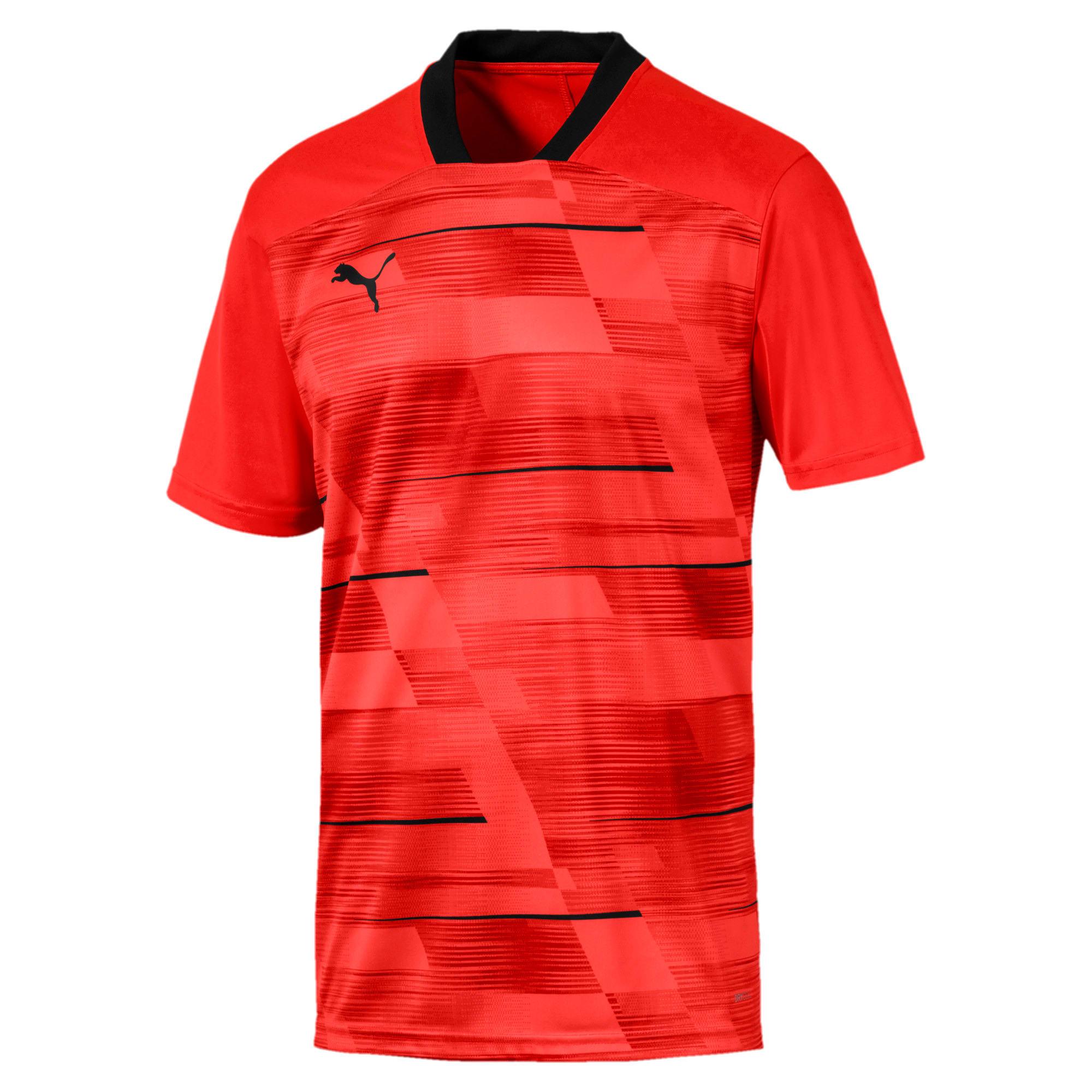 Thumbnail 4 of ftblNXT Men's Graphic Shirt, Nrgy Red-Puma Black, medium