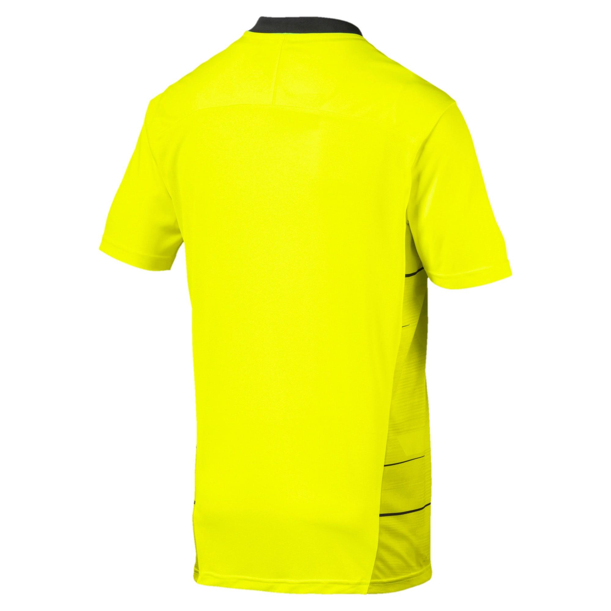 Thumbnail 5 of ftblNXT Men's Graphic Shirt, Yellow Alert-Grey Dawn, medium