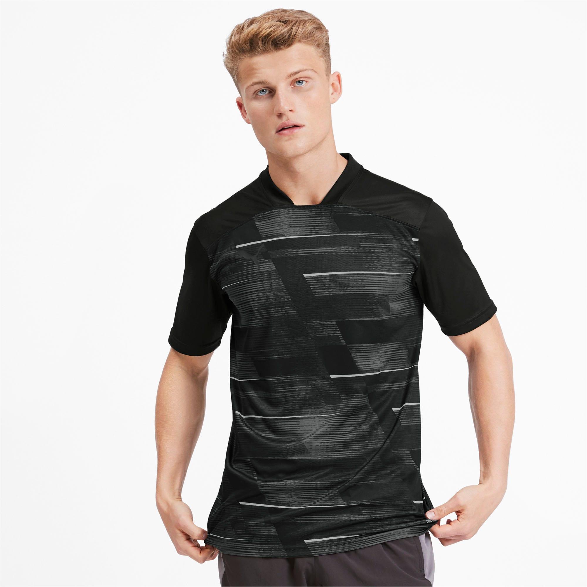 Miniatura 2 de Camiseta estampada ftblNXT para hombre, Puma Black-Phantom Black, mediano