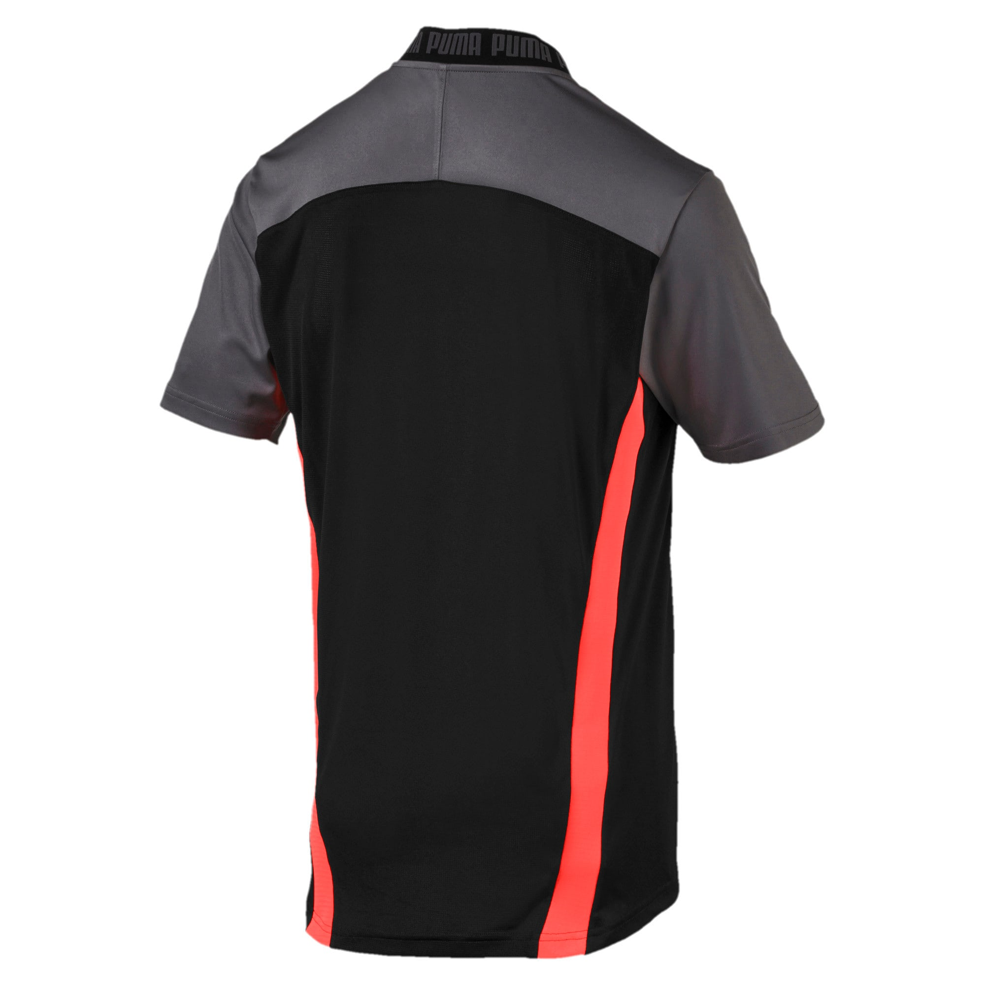 Thumbnail 5 of Pro T-shirt voor heren, Puma Black-Nrgy Red, medium