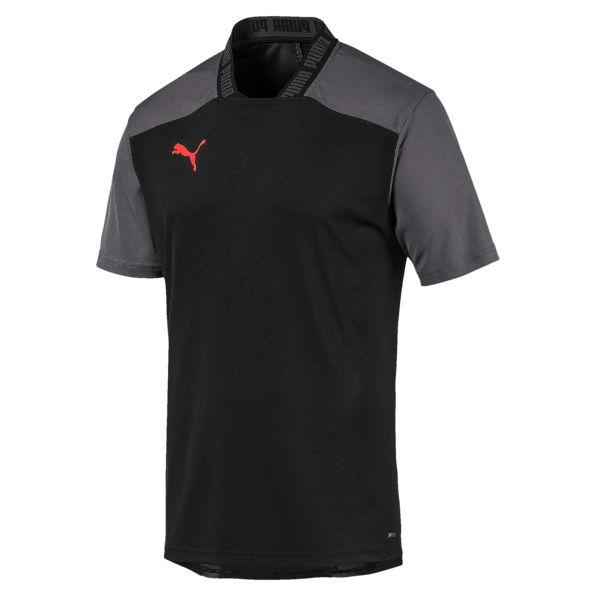 Thumbnail 4 of Pro T-shirt voor heren, Puma Black-Nrgy Red, medium
