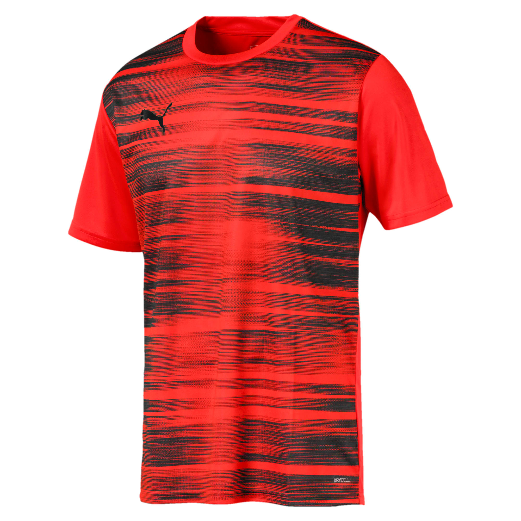 Core Graphic Men's Shirt, Nrgy Red-Puma Black, large
