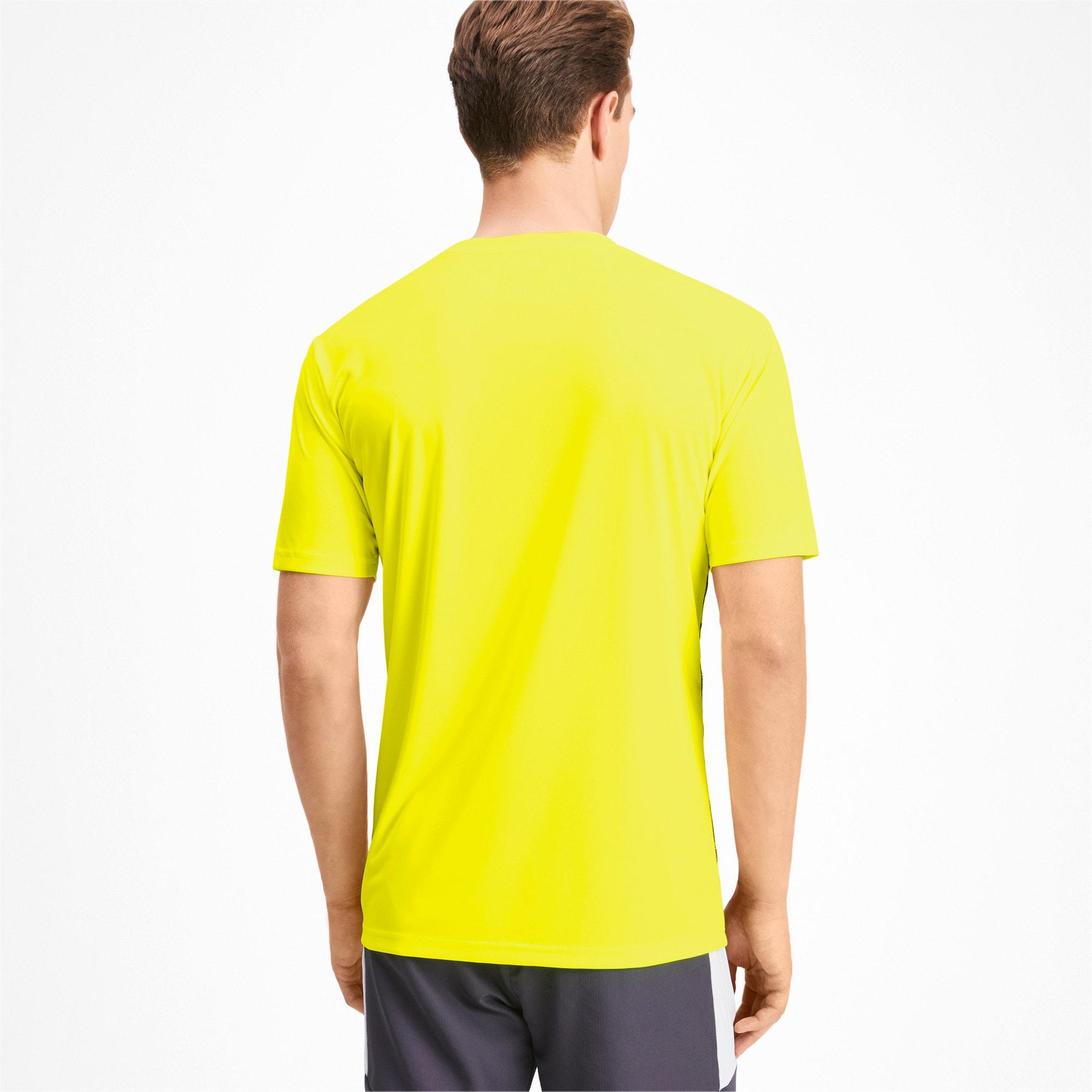 Thumbnail 2 of Core shirt met print voor heren, Yellow Alert-Grey Dawn, medium