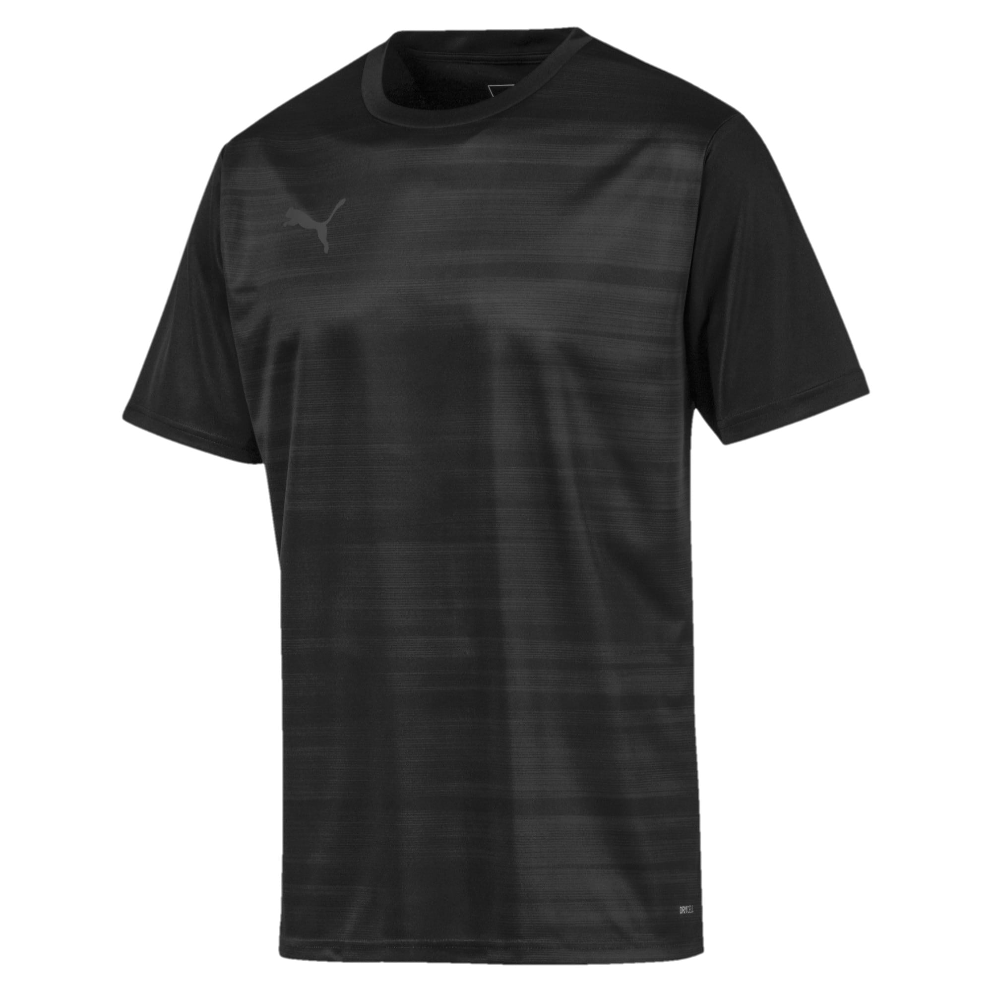 Thumbnail 4 of Core Graphic Men's Shirt, Puma Black-Phantom Black, medium