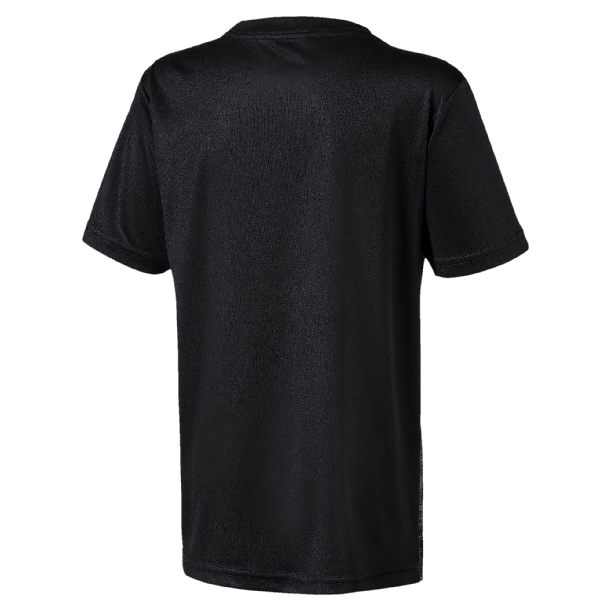 Thumbnail 2 van ftblNXT shirt met print voor jongens, Puma Black-Nrgy Red, medium