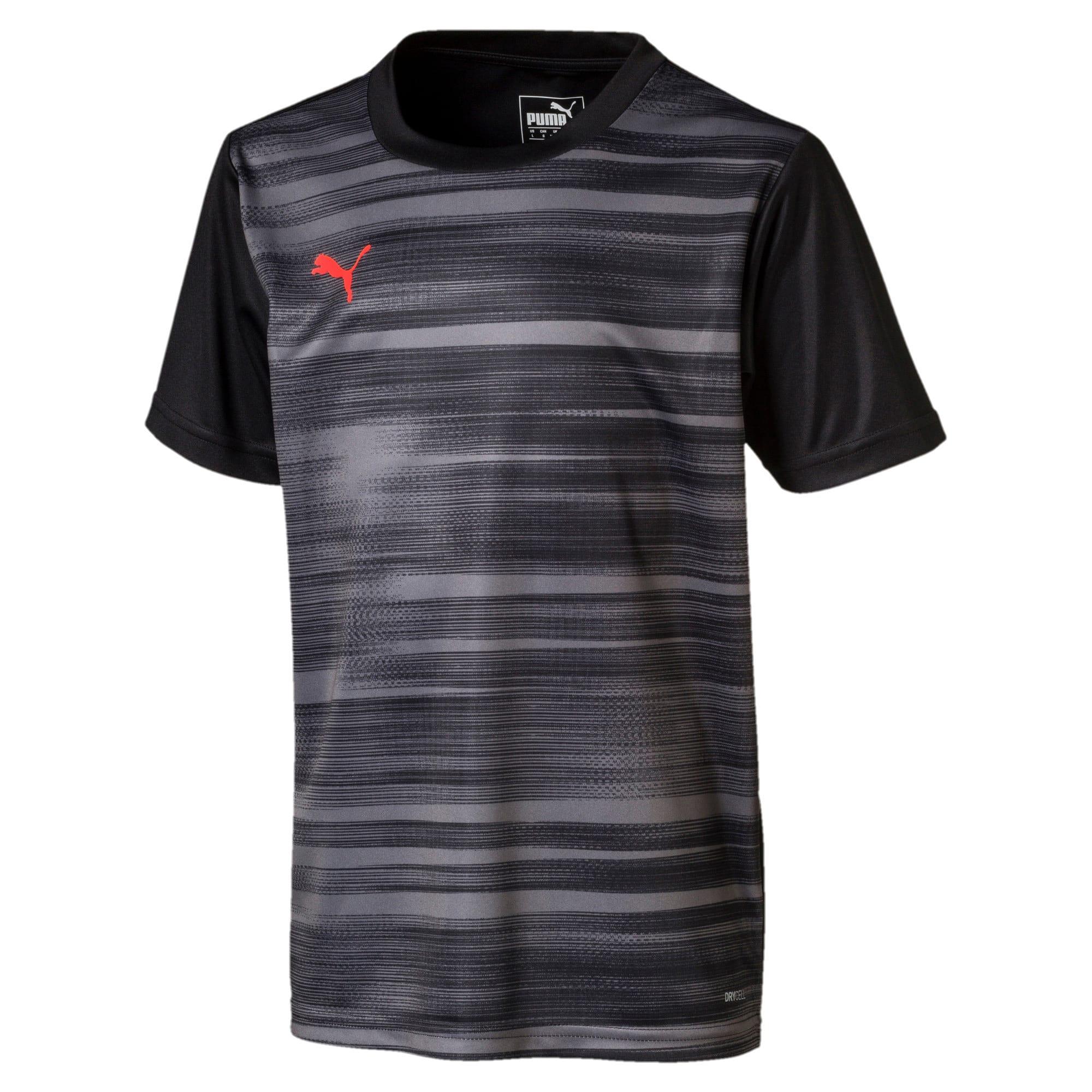 Thumbnail 1 van ftblNXT shirt met print voor jongens, Puma Black-Nrgy Red, medium