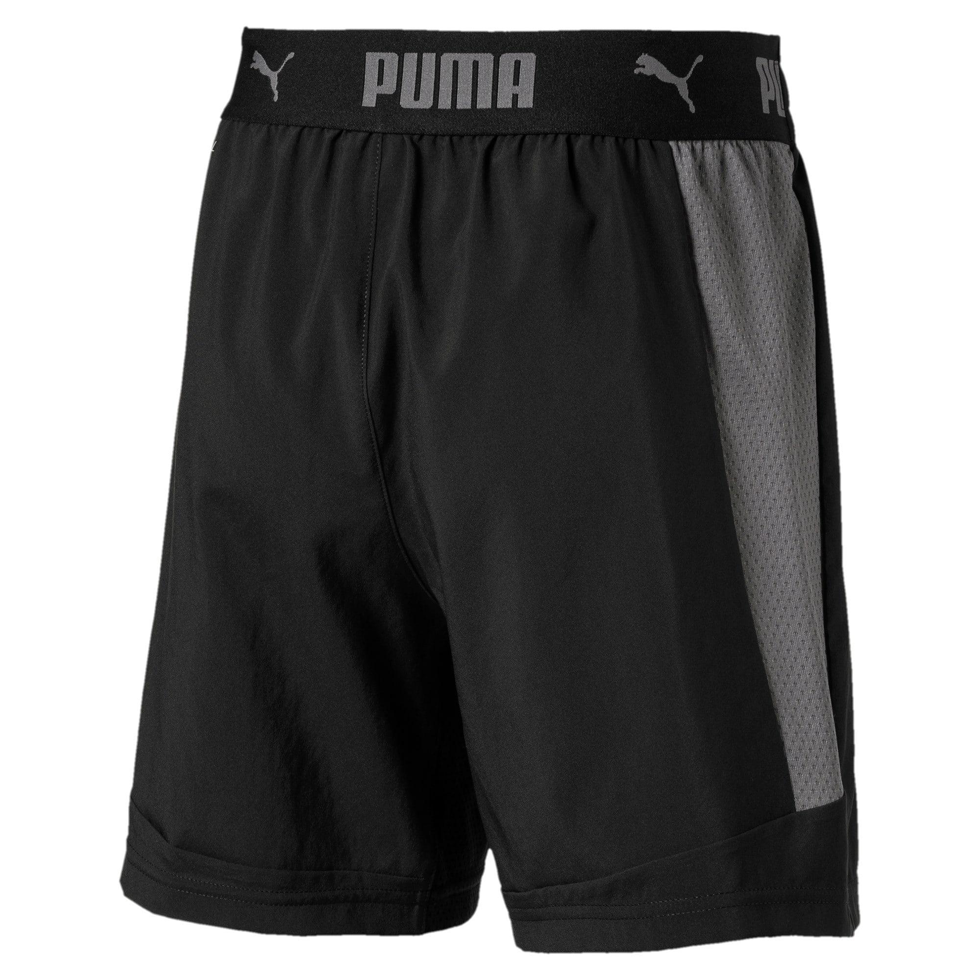Thumbnail 1 of ftblNXT Woven Boys' Shorts, Puma Black, medium-IND