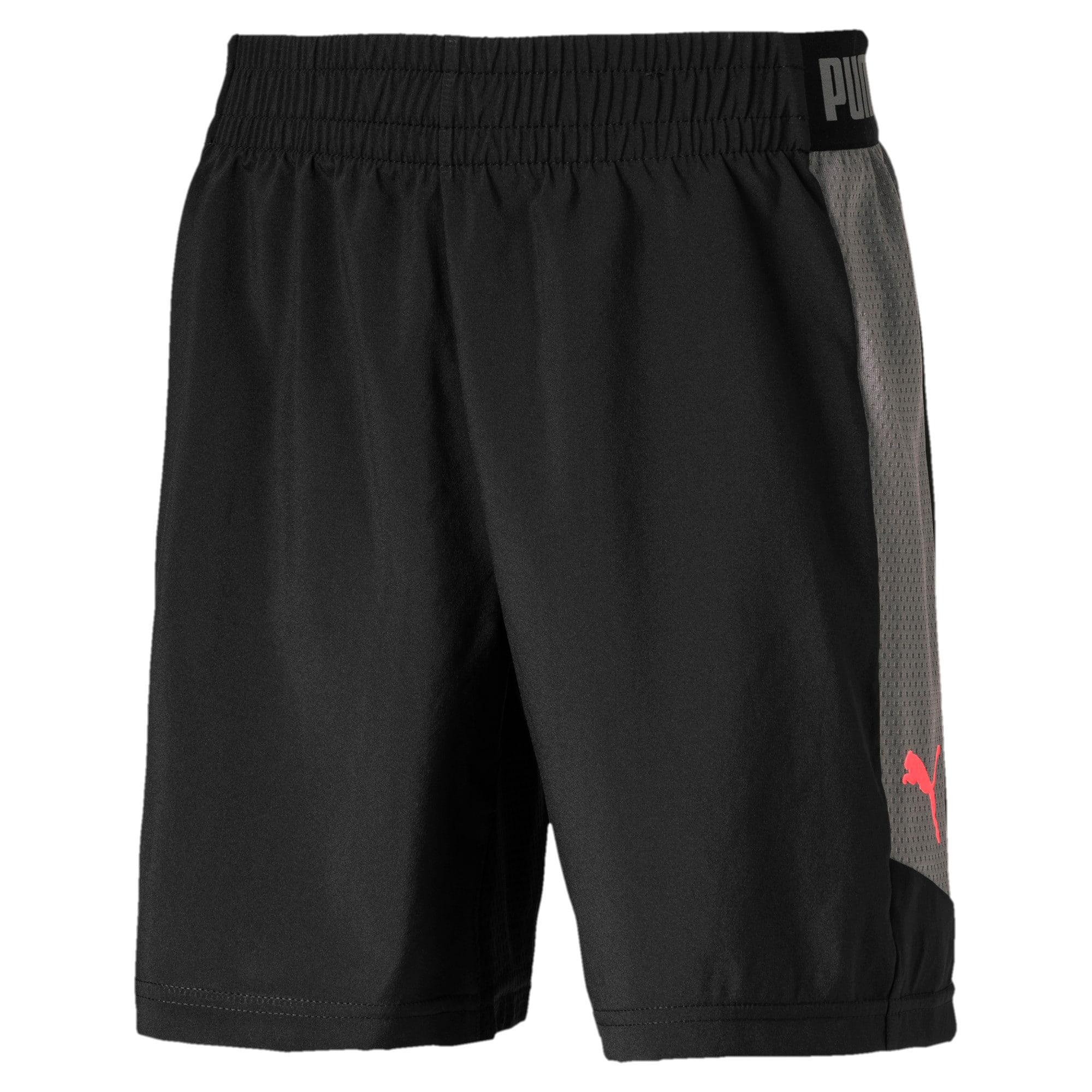 Thumbnail 2 of ftblNXT Woven Boys' Shorts, Puma Black, medium-IND