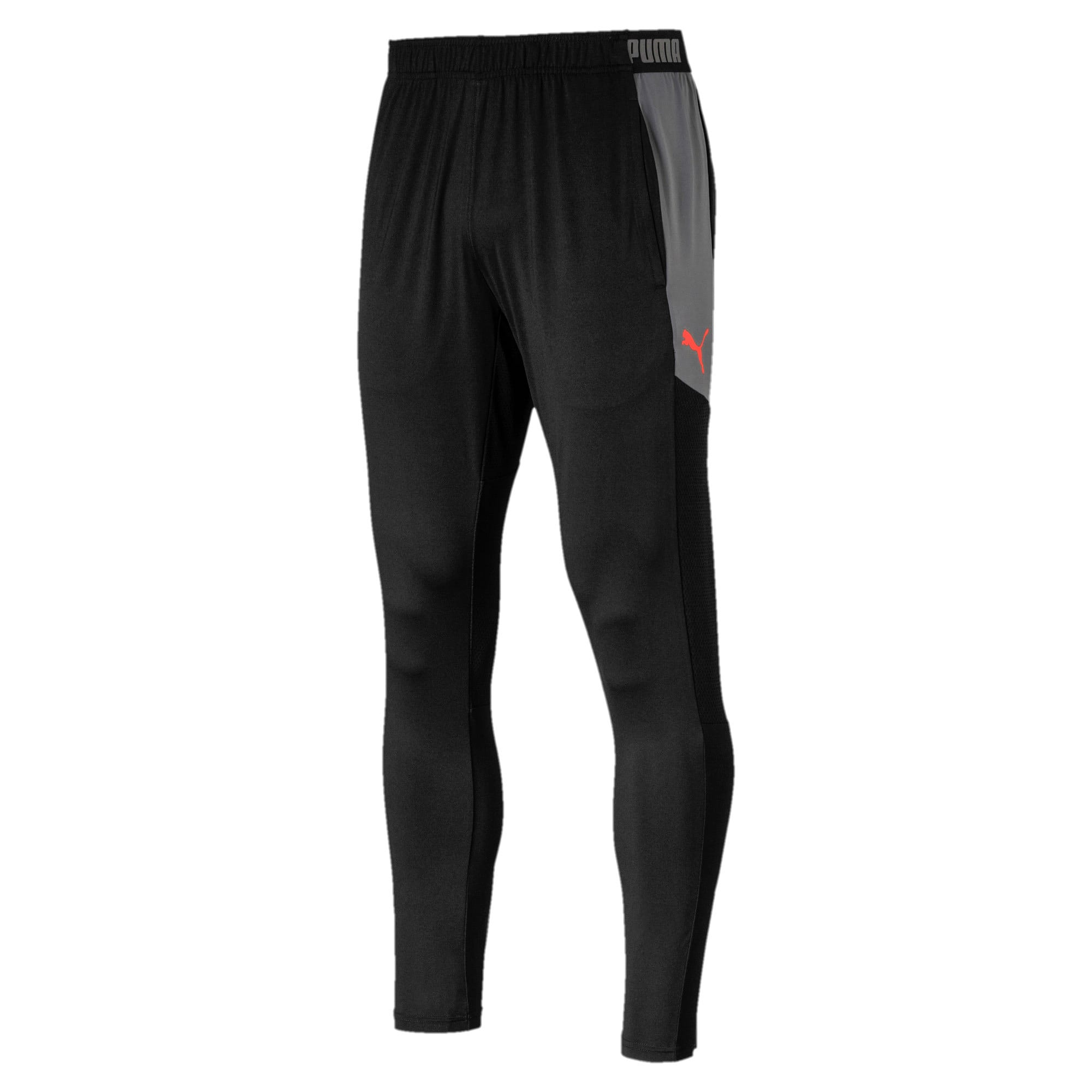 Thumbnail 4 of Knitted Men's Pants, Puma Black, medium