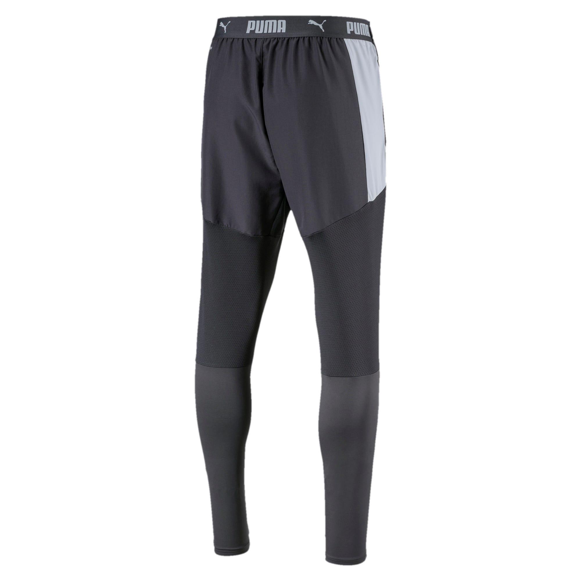 Thumbnail 5 of Pro Knitted broek voor heren, Grey Dawn-Yellow Alert, medium