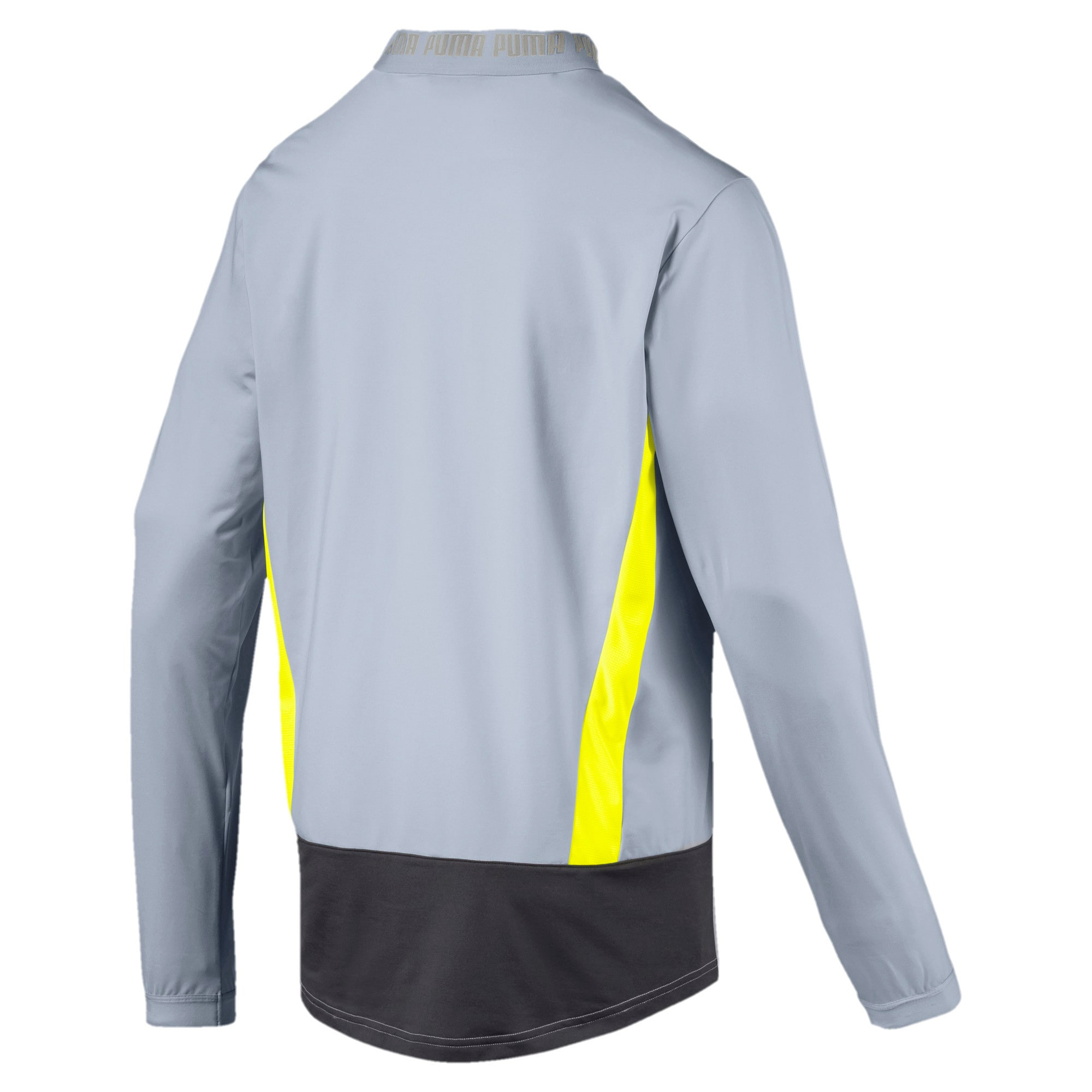 Thumbnail 5 of Blouson de survêtement pour homme, Grey Dawn-Yellow Alert, medium