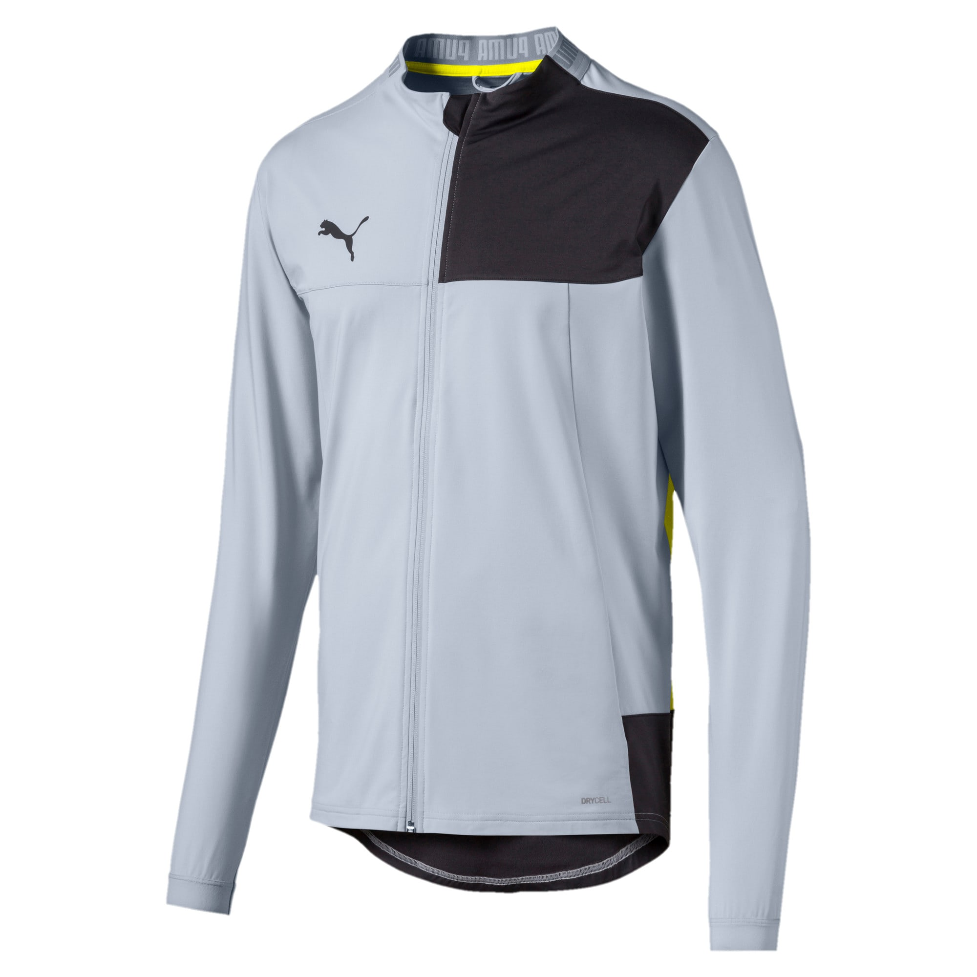 Thumbnail 4 of Blouson de survêtement pour homme, Grey Dawn-Yellow Alert, medium