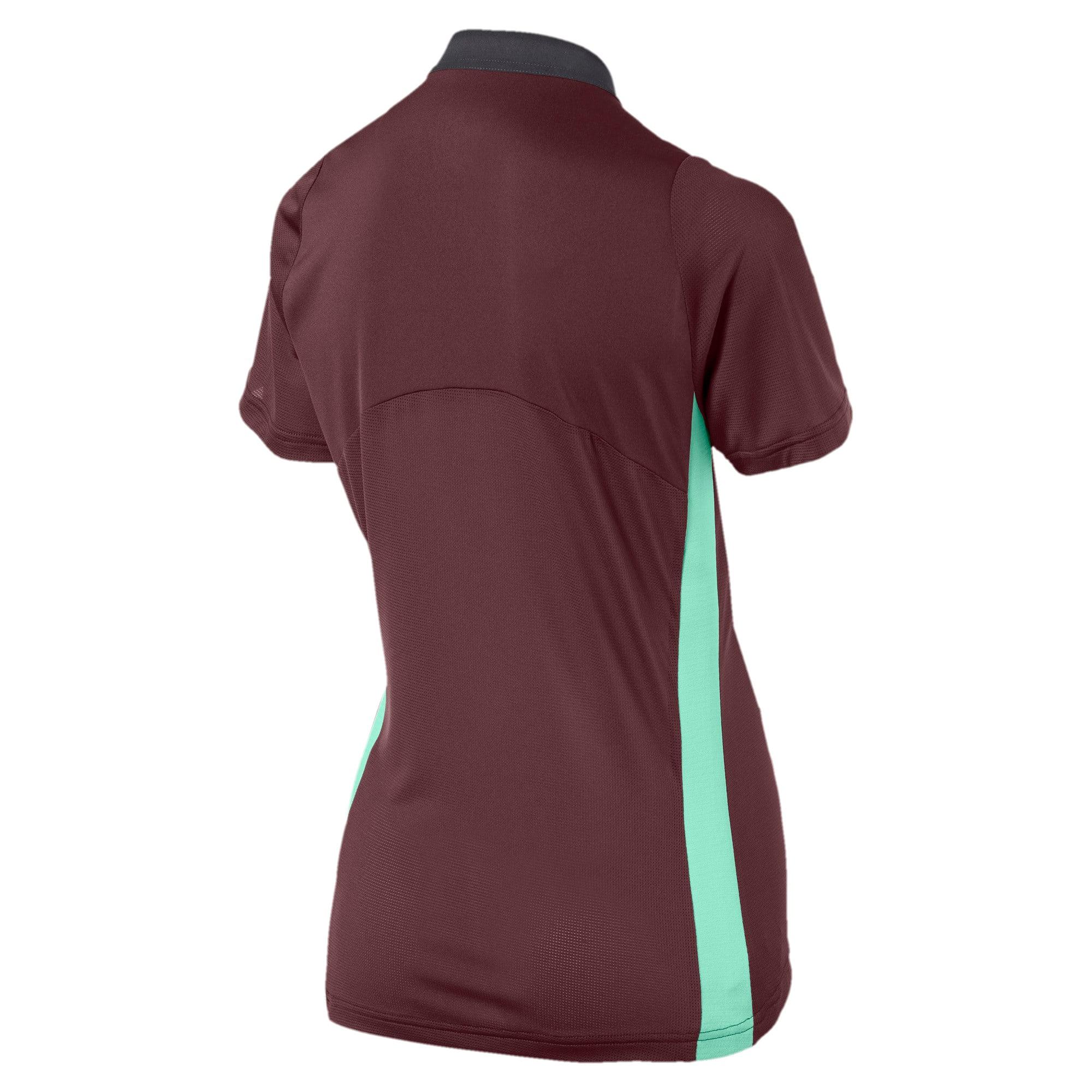 Thumbnail 5 van ftblNXT Pro voetbalshirt voor vrouwen, Vineyard Wine-Green Glimmer, medium