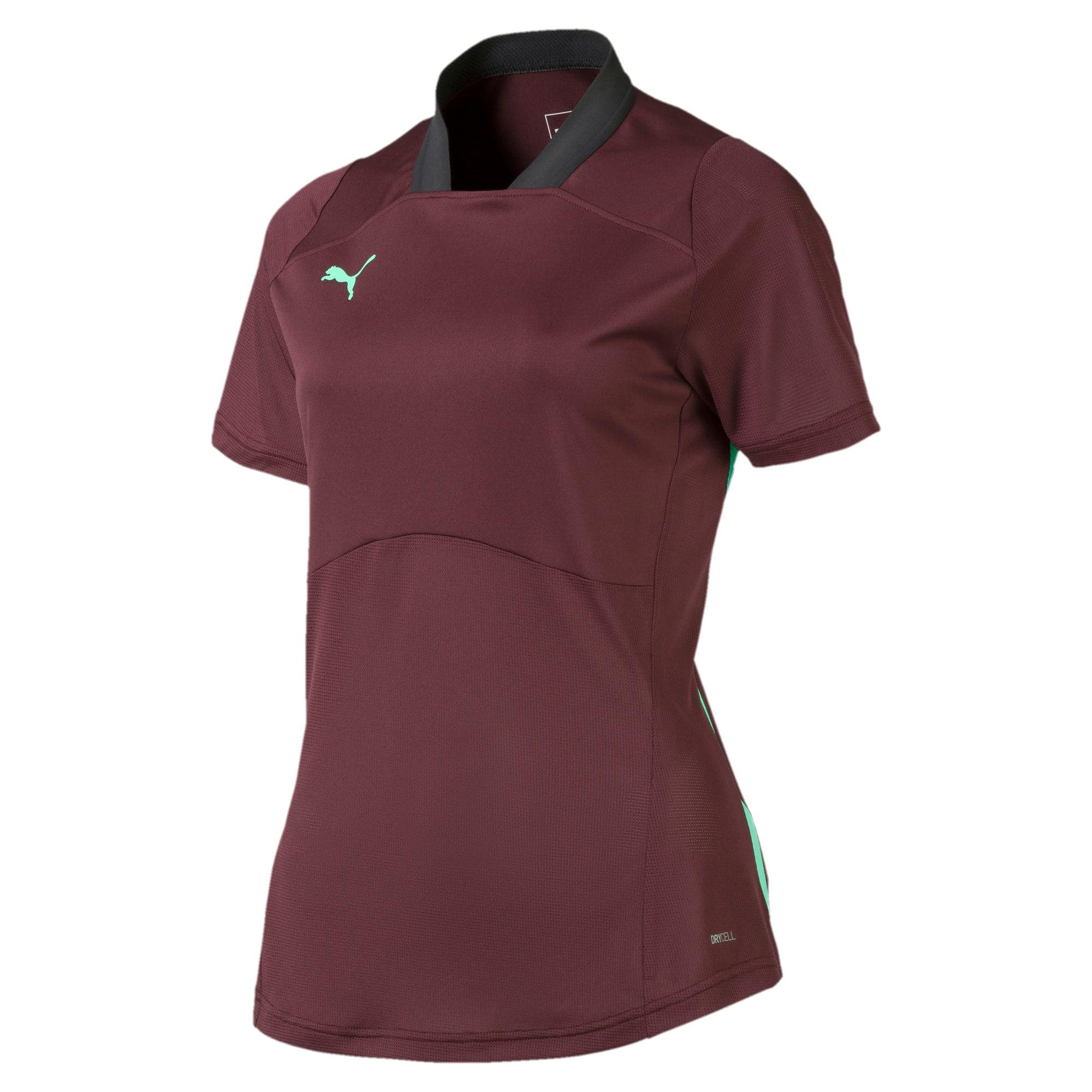 Thumbnail 4 van ftblNXT Pro voetbalshirt voor vrouwen, Vineyard Wine-Green Glimmer, medium