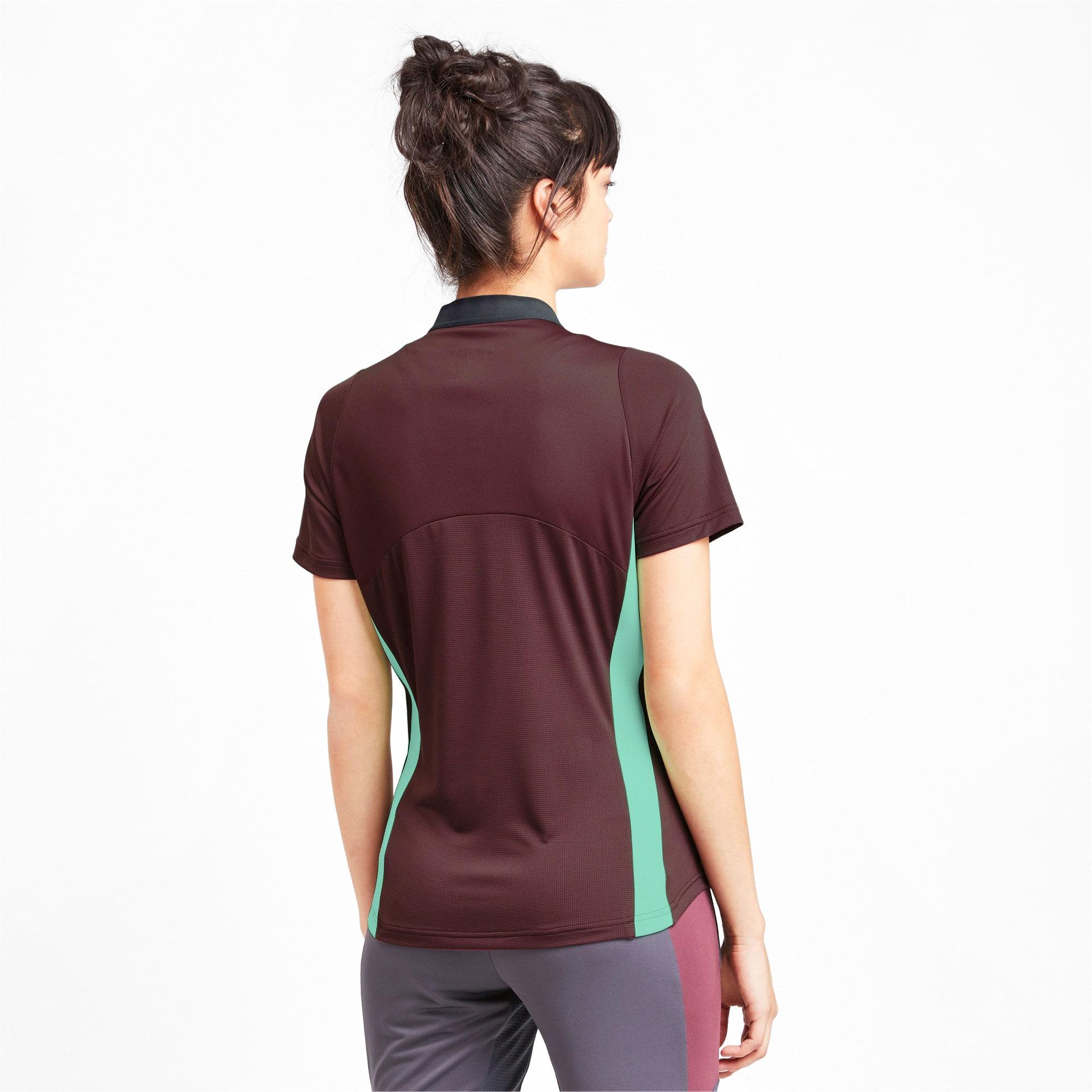 Thumbnail 2 van ftblNXT Pro voetbalshirt voor vrouwen, Vineyard Wine-Green Glimmer, medium
