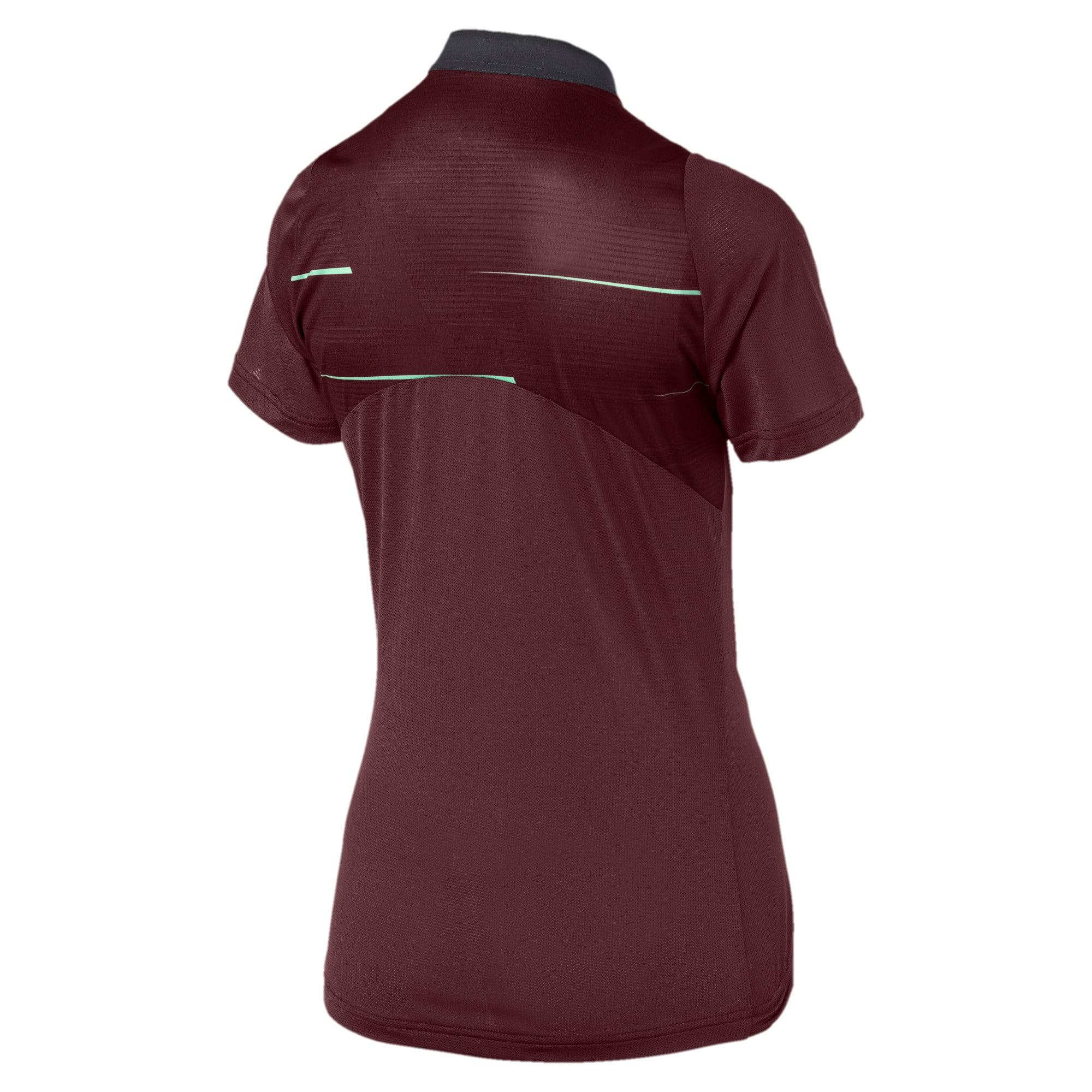 Thumbnail 5 of ftblNXT Graphic Women's Football Shirt, Vineyard Wine-Green Glimmer, medium