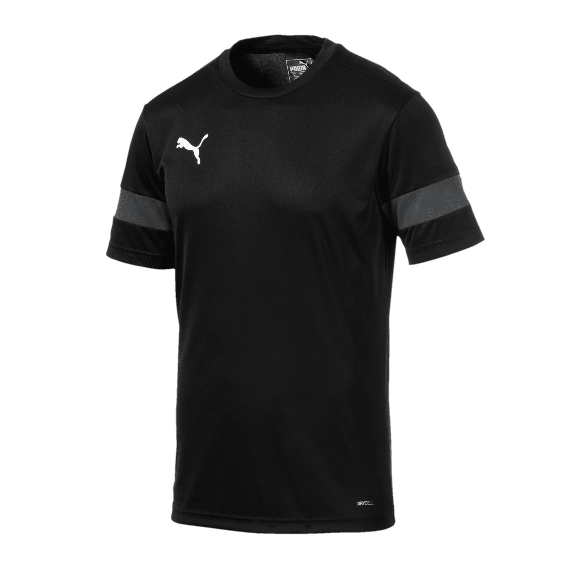 Thumbnail 4 of Trainingsshirt voor heren, Puma Black-Asphalt, medium