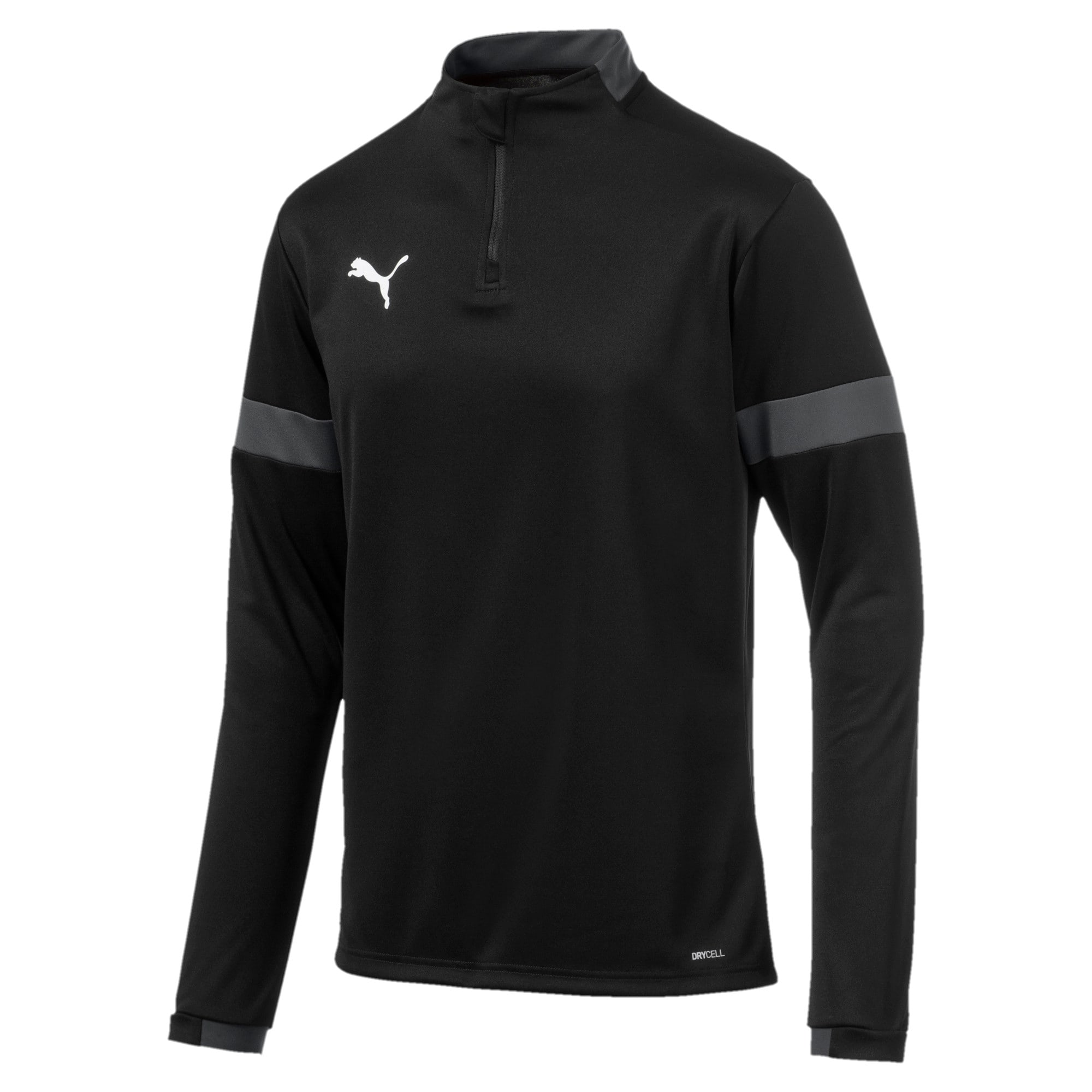 Thumbnail 4 of Sweatshirt pour homme, Puma Black-Asphalt, medium
