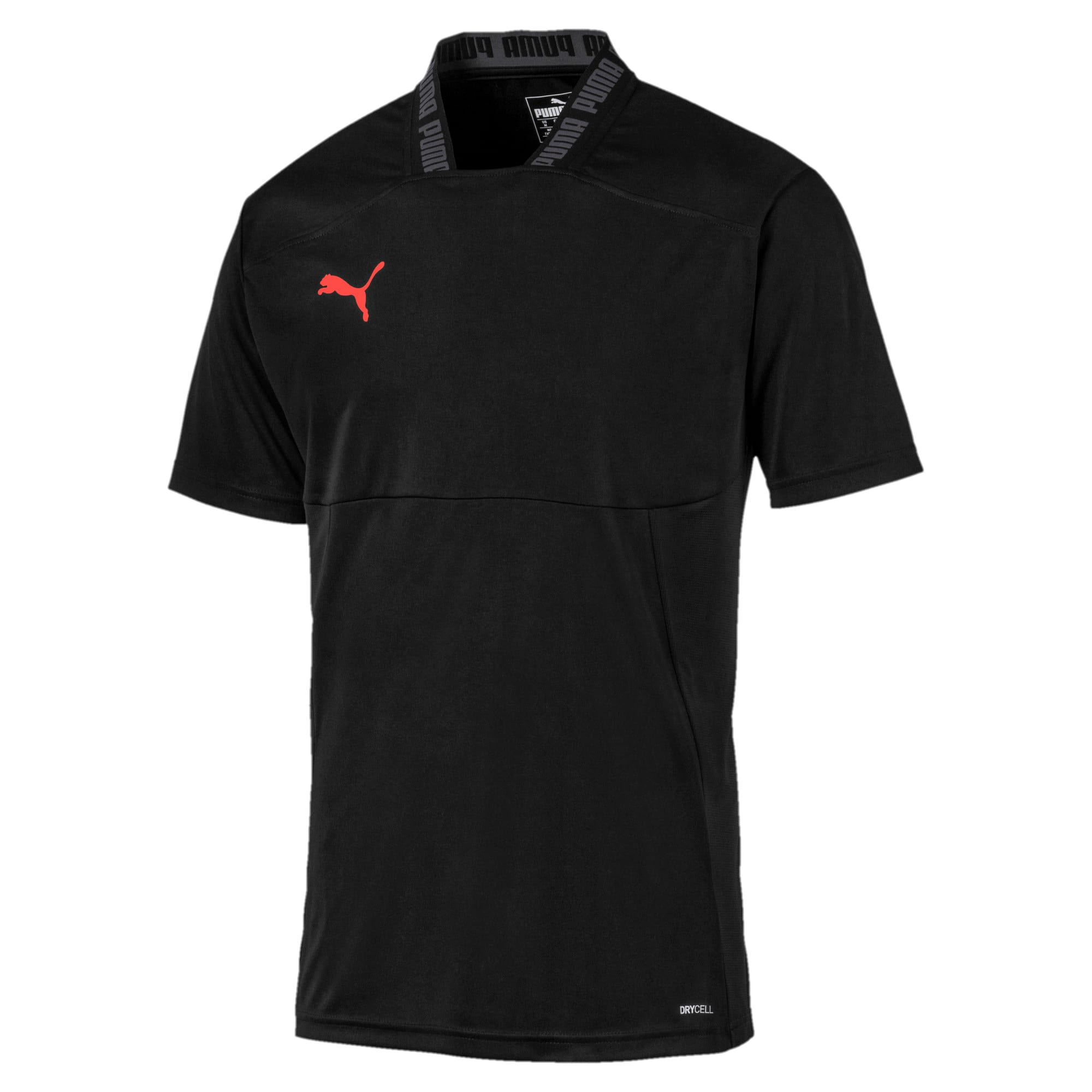 Thumbnail 4 of Colour Shift Men's Shirt, Puma Black-Nrgy Red, medium