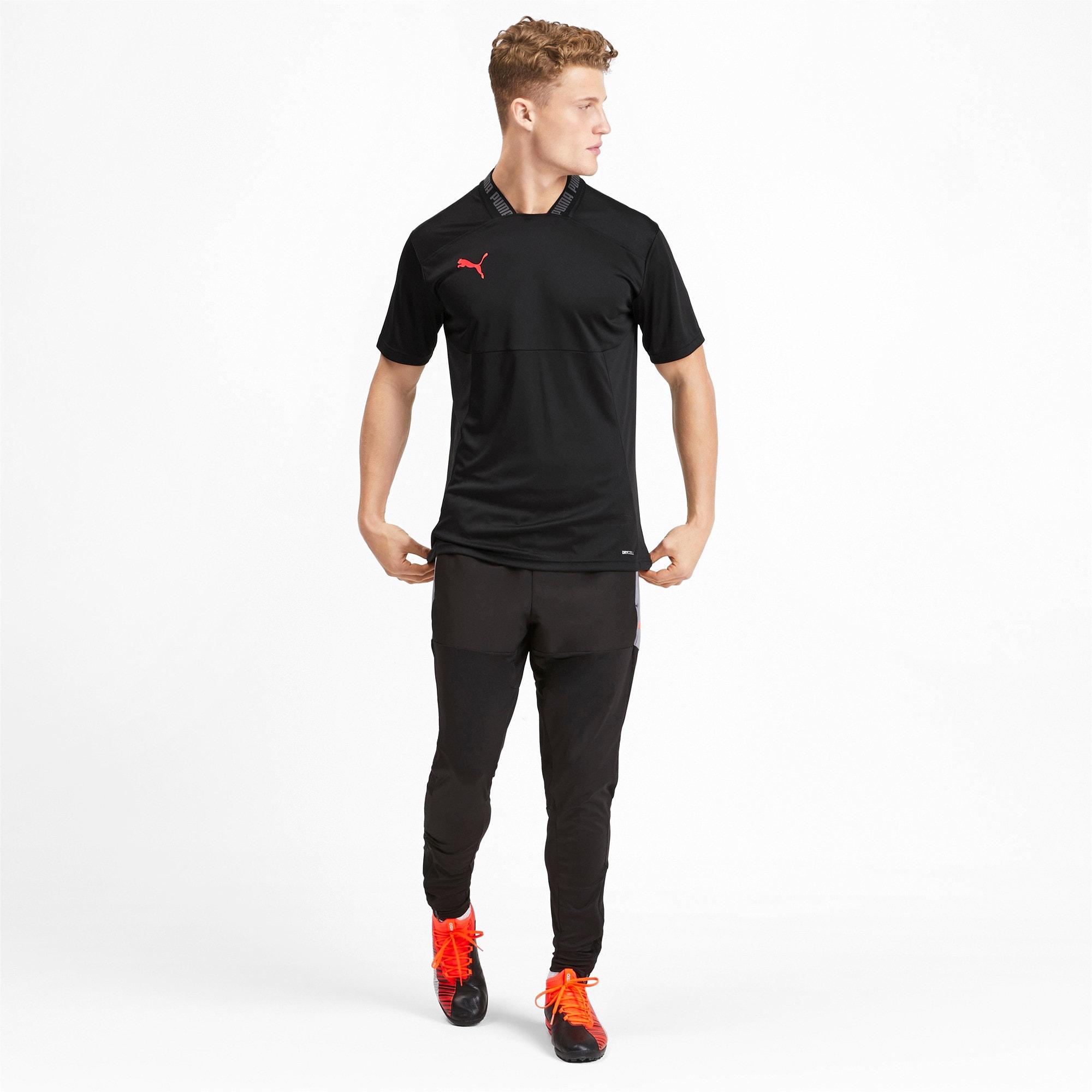 Thumbnail 3 of Colour Shift Men's Shirt, Puma Black-Nrgy Red, medium
