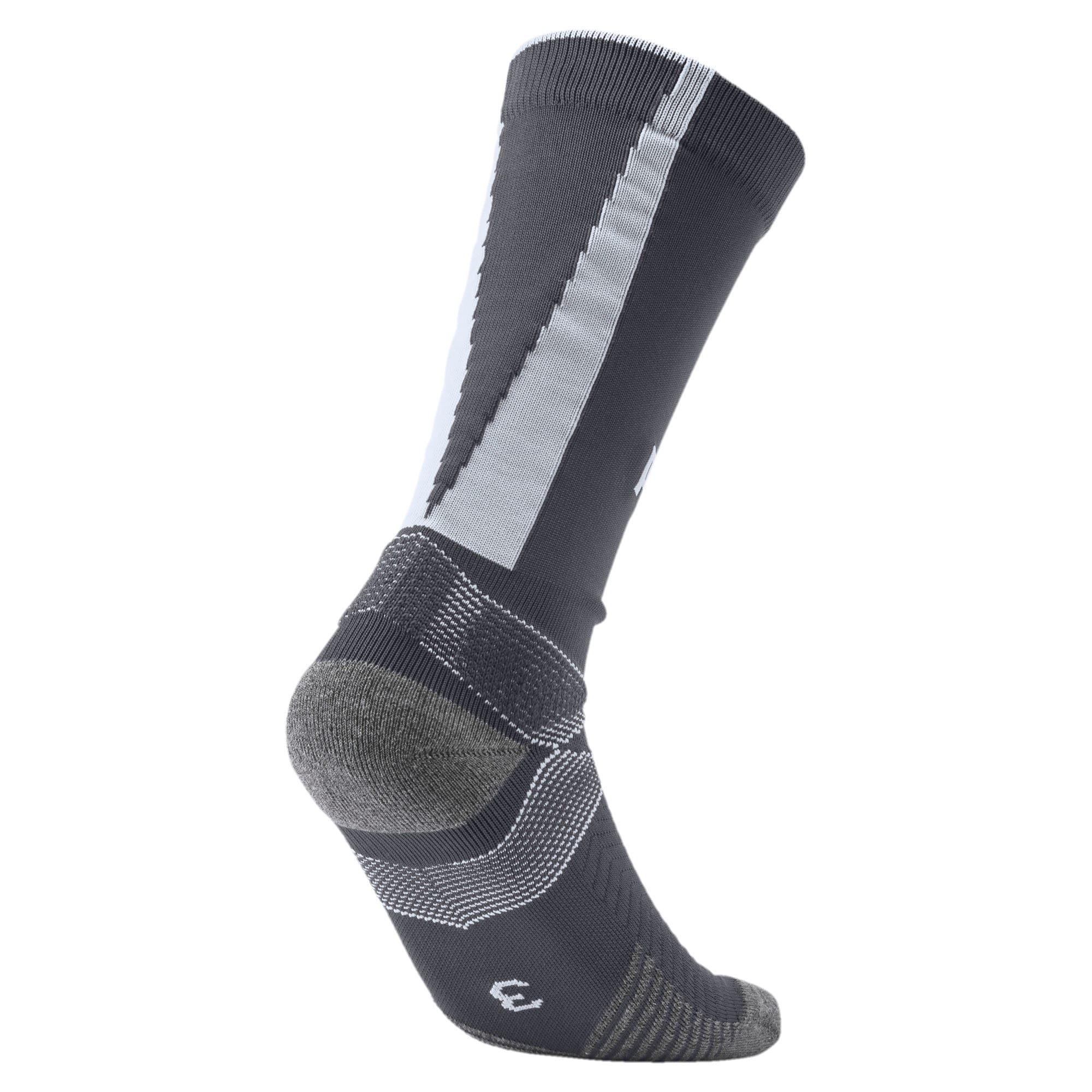 Thumbnail 2 of Team ftblNXT Casuals Men's Socks, Ebony-Grey Dawn, medium