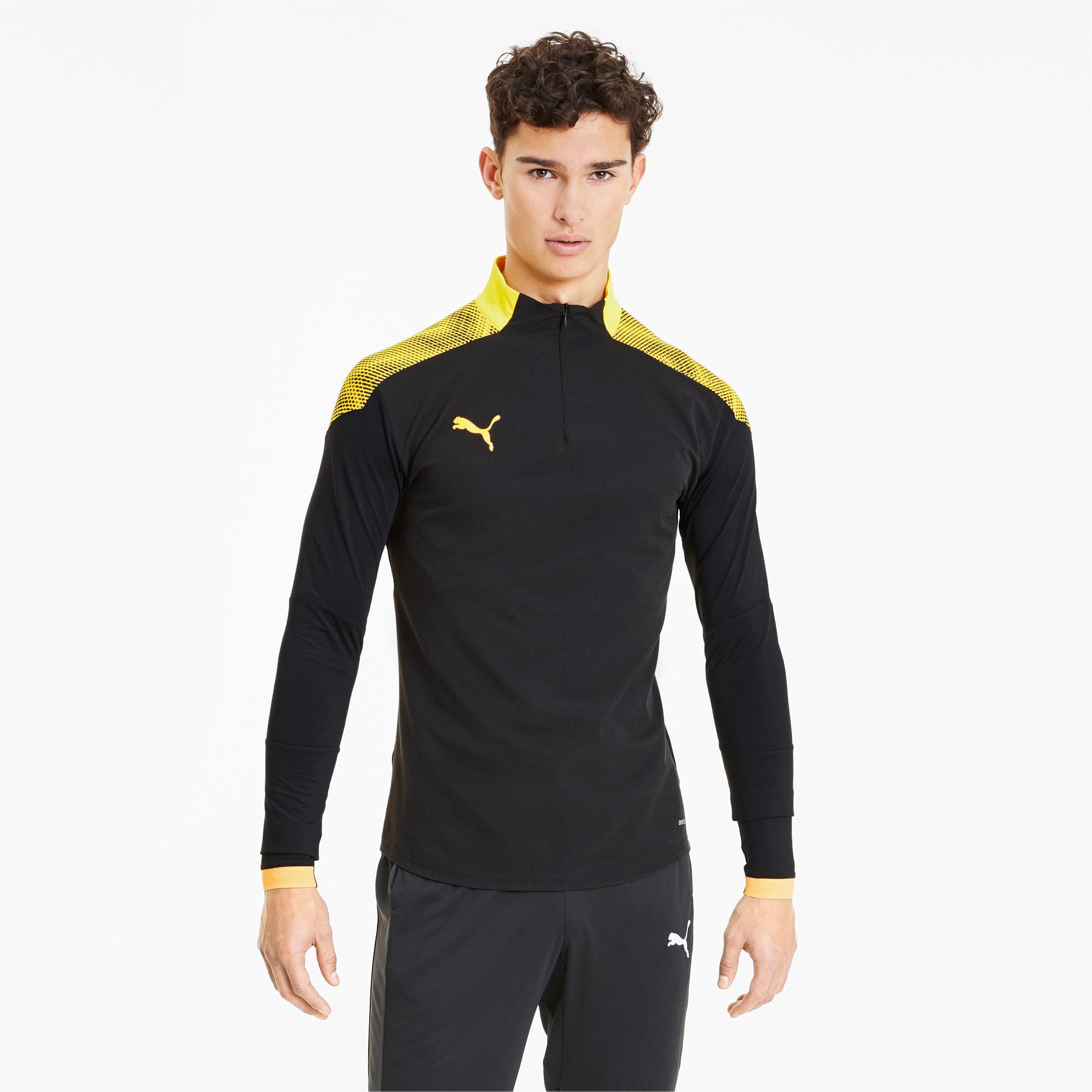 ftblNXT Herren Quarter Zip Fußball Sweatshirt | Puma Black