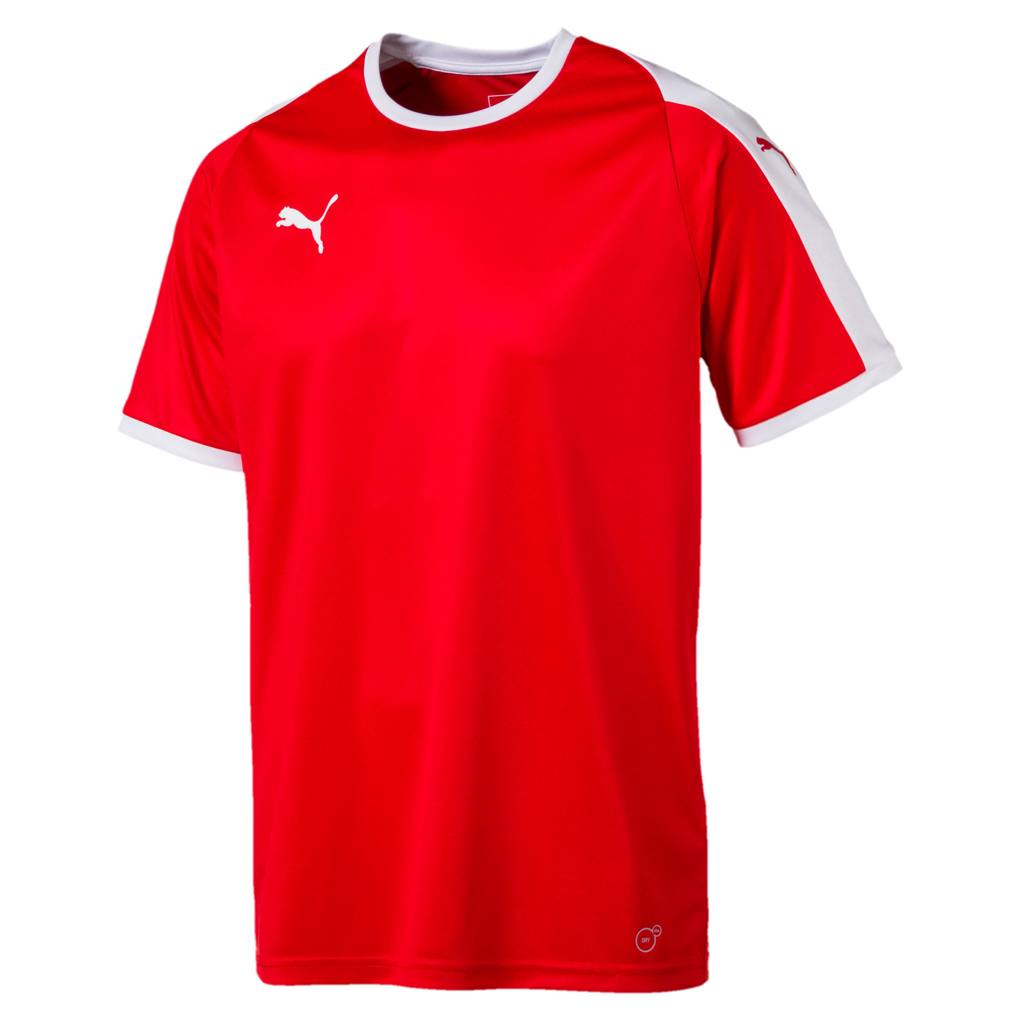 Thumbnail 4 of Liga shirt voor heren, Puma Red-Puma White, medium