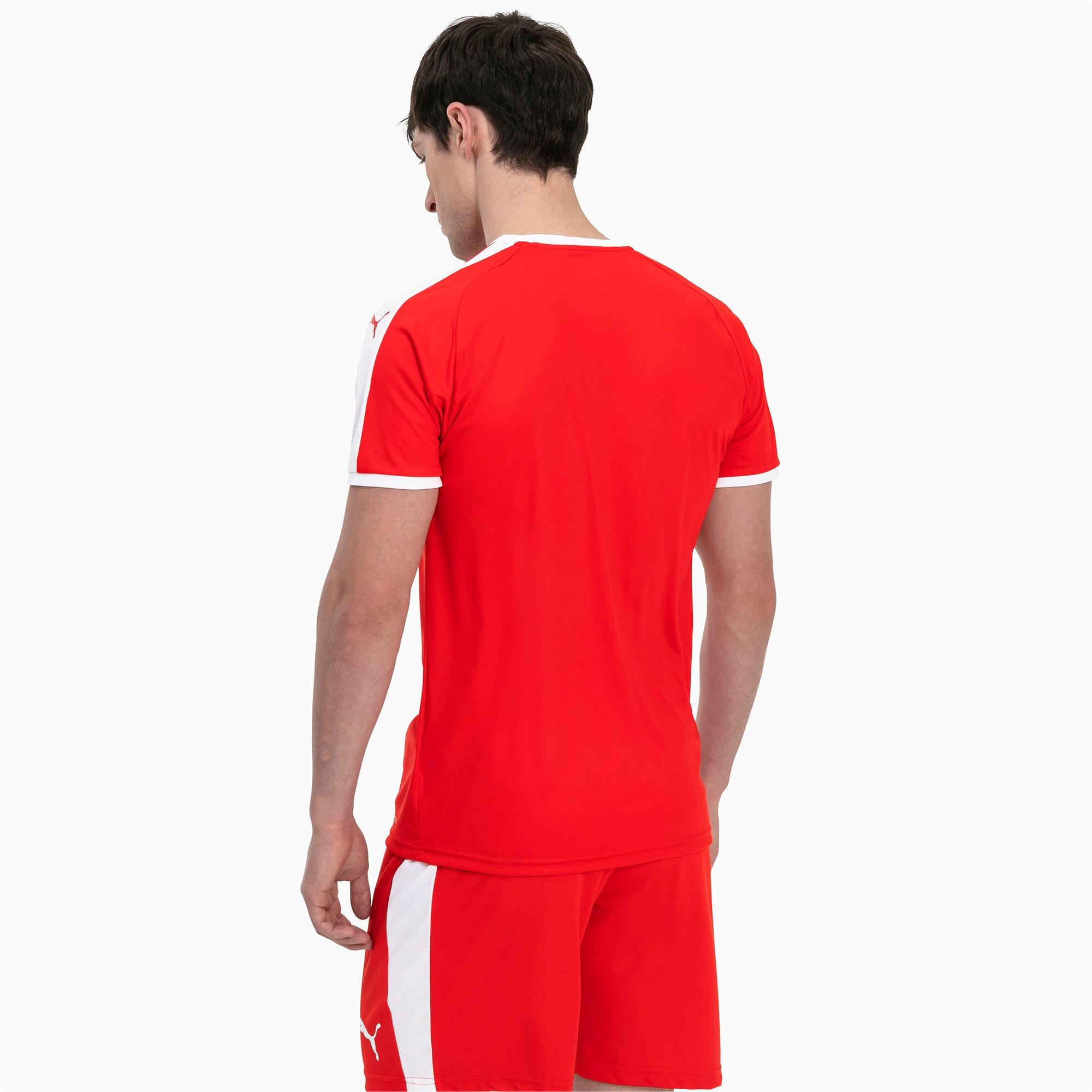 Thumbnail 2 of Liga shirt voor heren, Puma Red-Puma White, medium