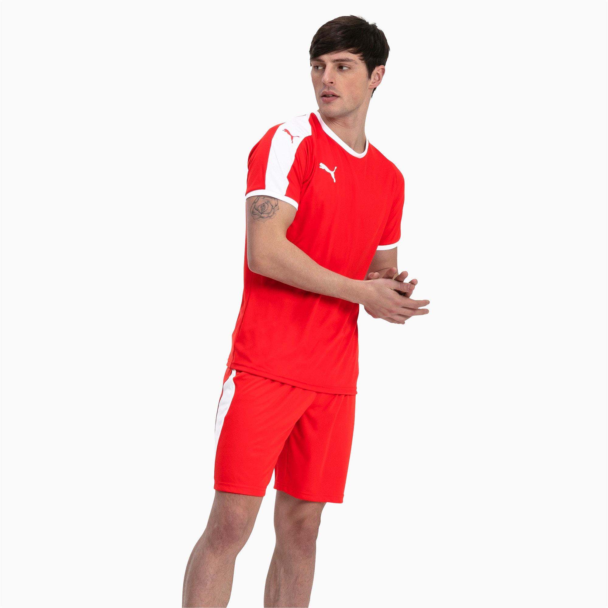 Thumbnail 3 of Liga shirt voor heren, Puma Red-Puma White, medium